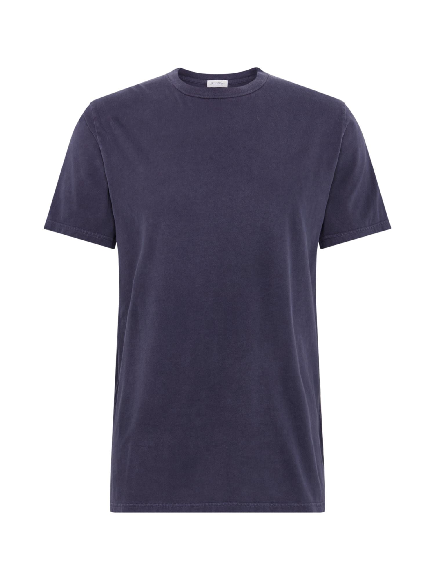 AMERICAN VINTAGE Marškinėliai 'FUZYCITY' tamsiai pilka