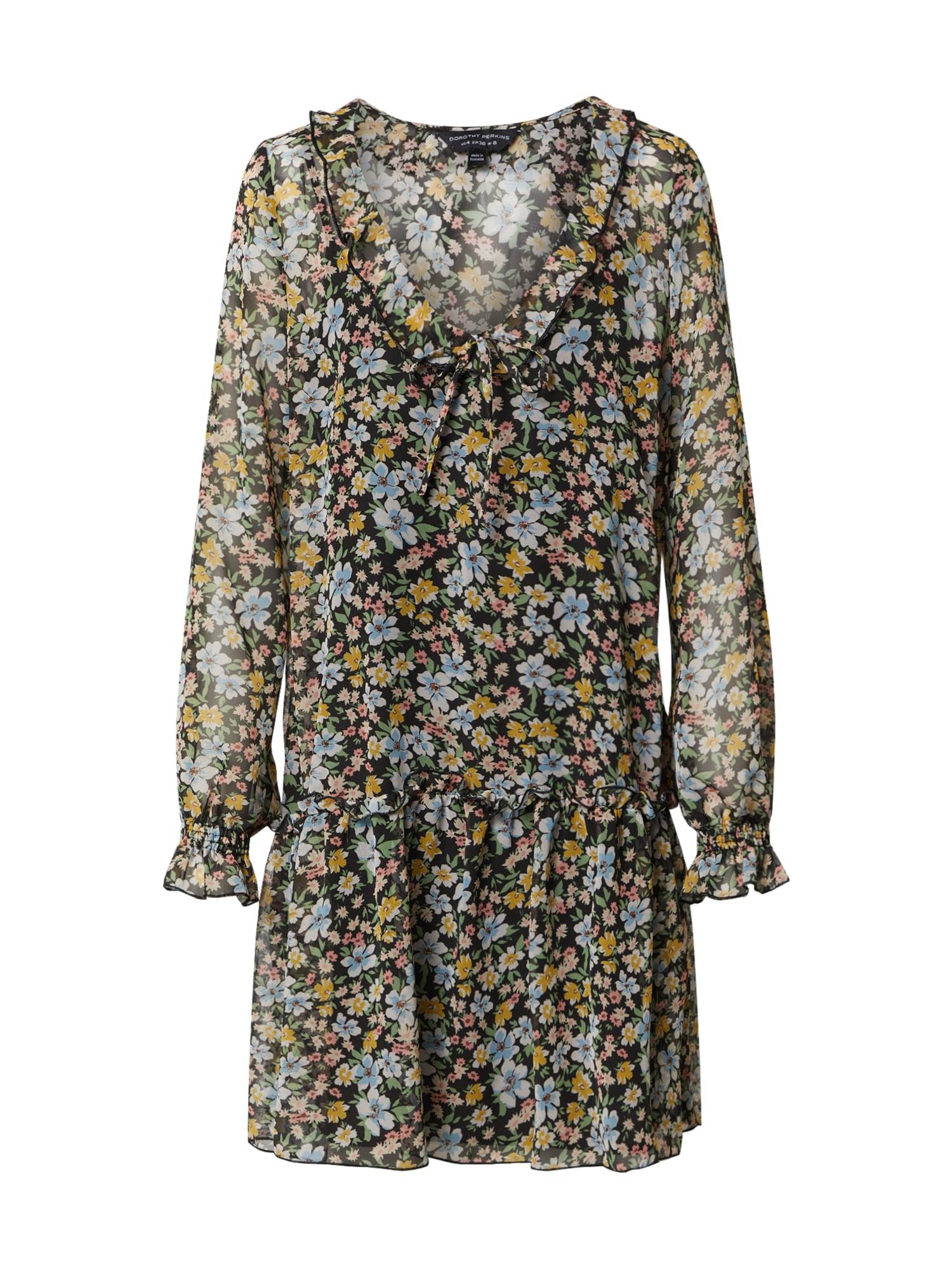 Dorothy Perkins Vasarinė suknelė 'CHIFFON SMOCK' mišrios spalvos
