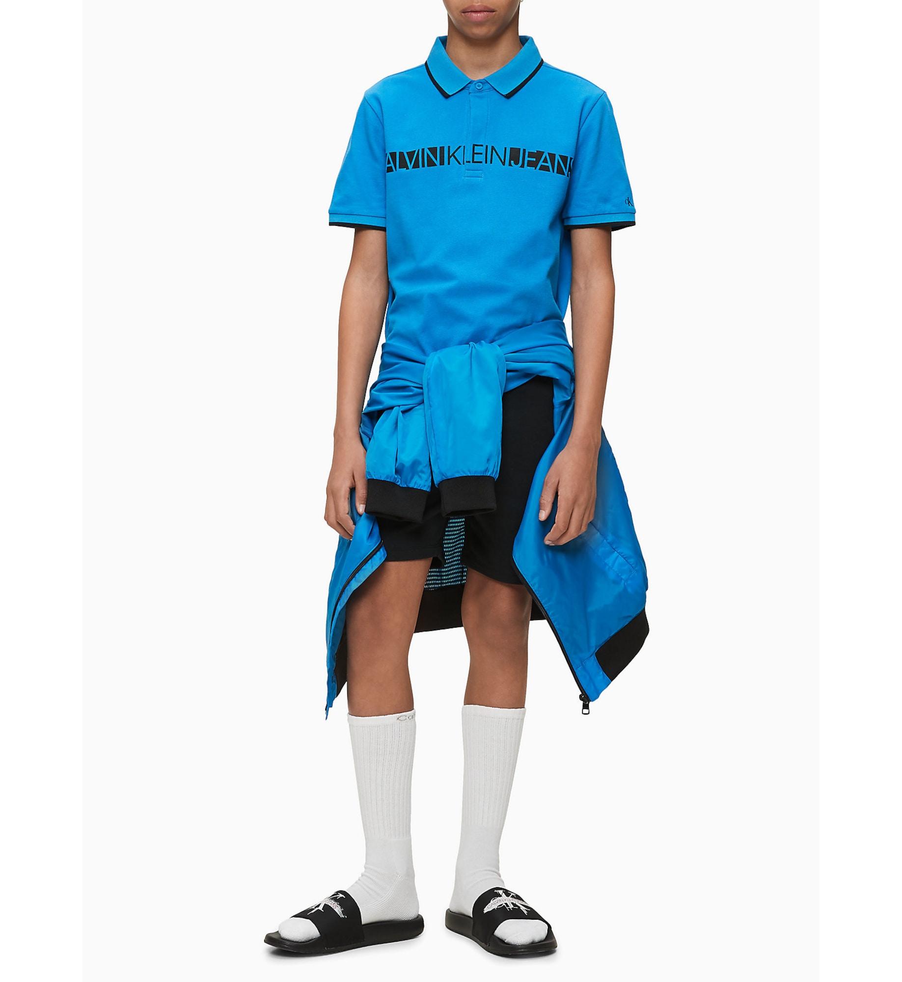 Calvin Klein Jeans T-shirt  aqua