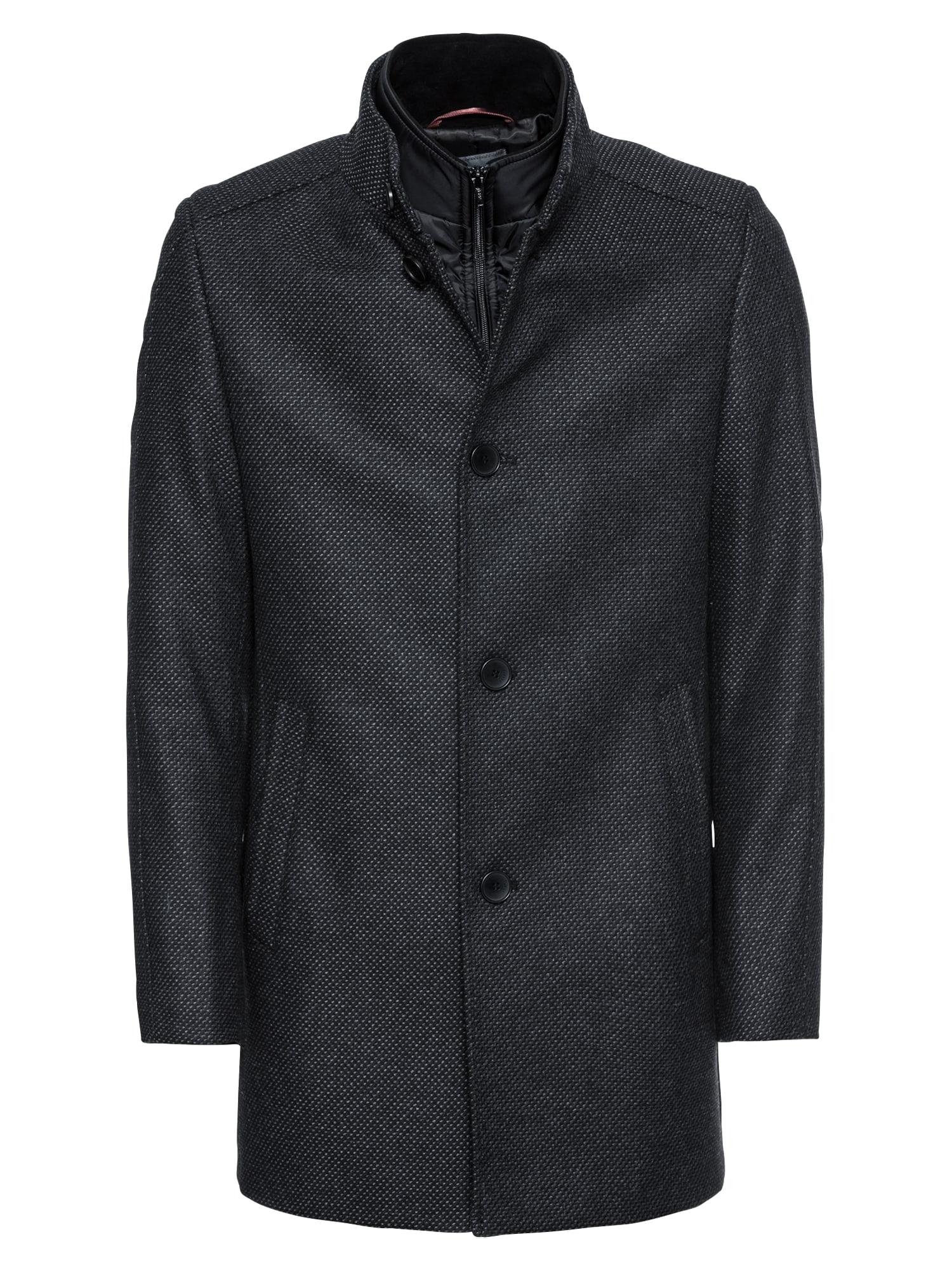 Zimní kabát CIOXFORD námořnická modř CINQUE