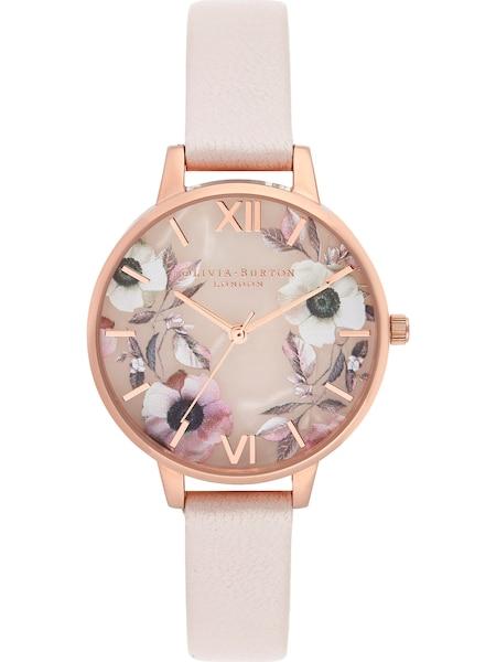 Uhren für Frauen - Uhr 'Semi Precious OB16SP14' › Olivia Burton › rosegold pastellpink  - Onlineshop ABOUT YOU