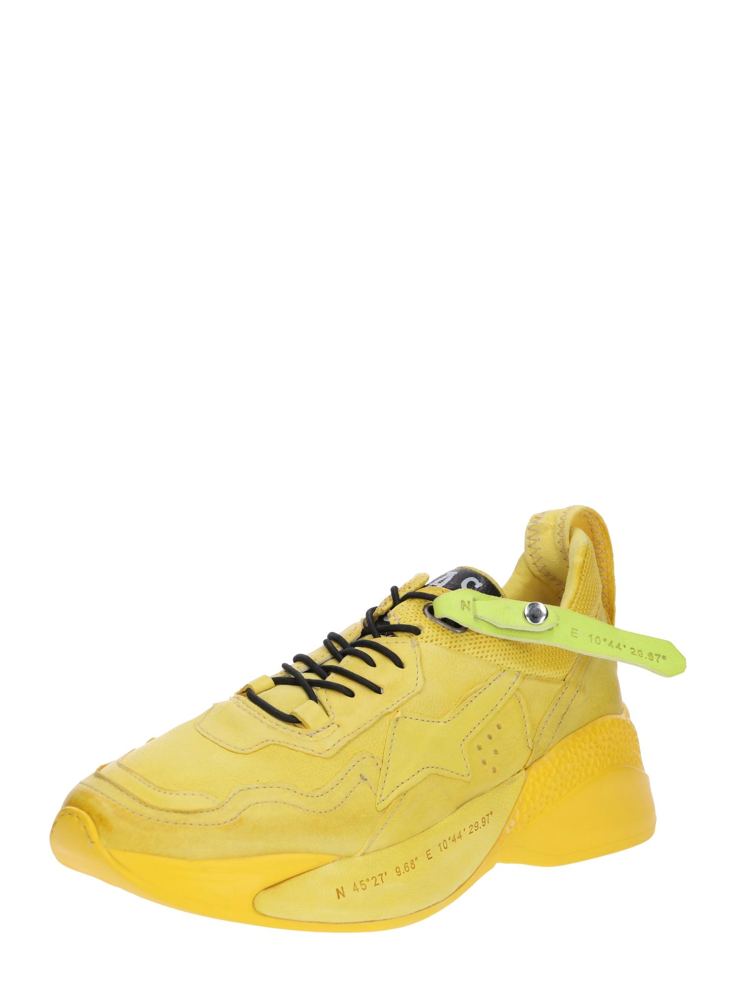 Tenisky LUZ žlutá A.S.98