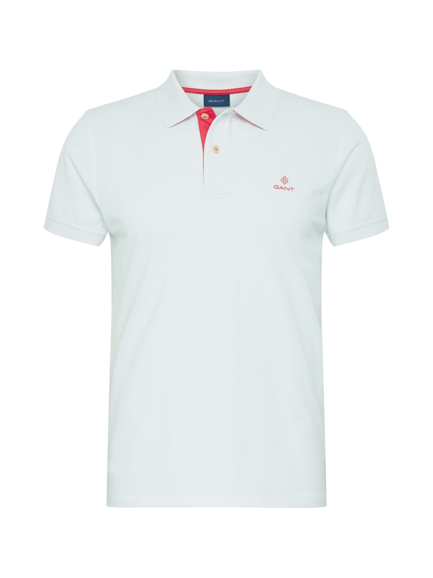 GANT Tričko  červené / biela