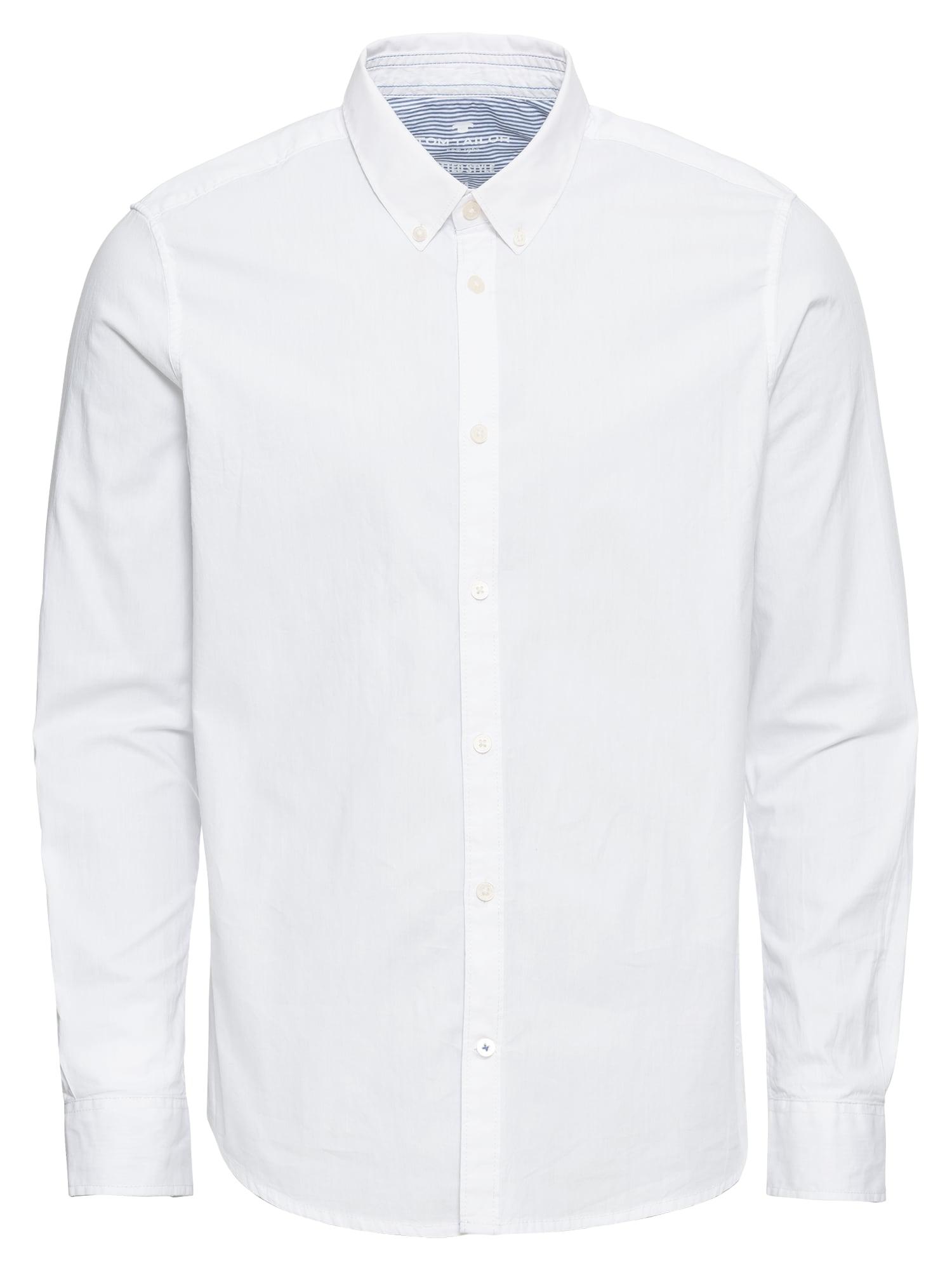 TOM TAILOR Marškiniai balta