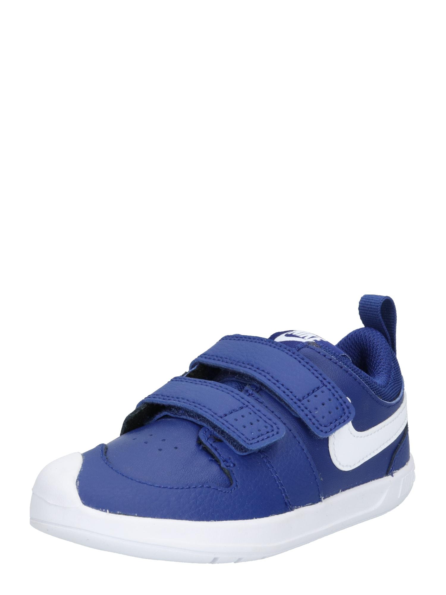 Nike Sportswear Sandále  modré / biela