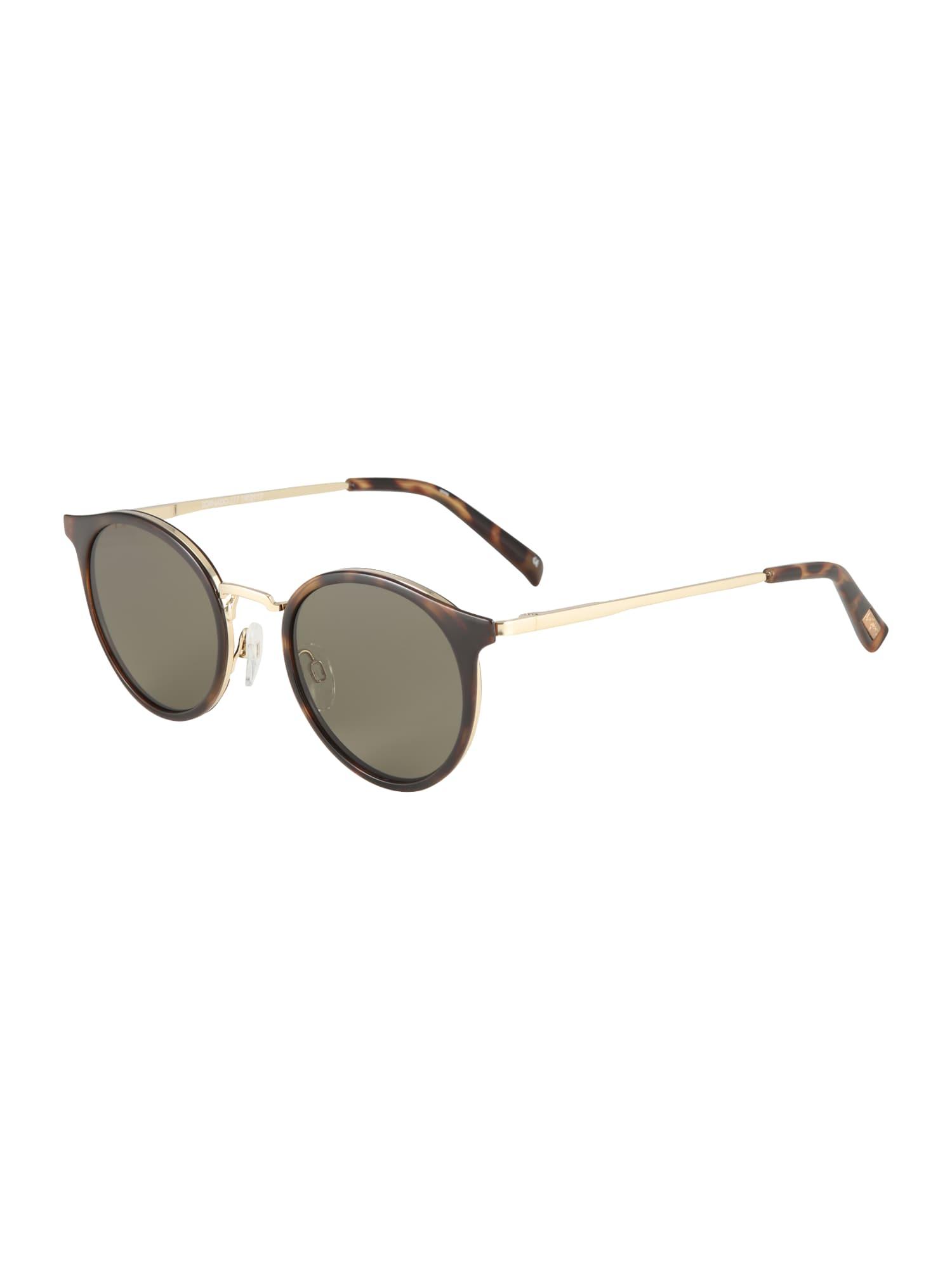 LE SPECS Slnečné okuliare 'TORNADO'  hnedé