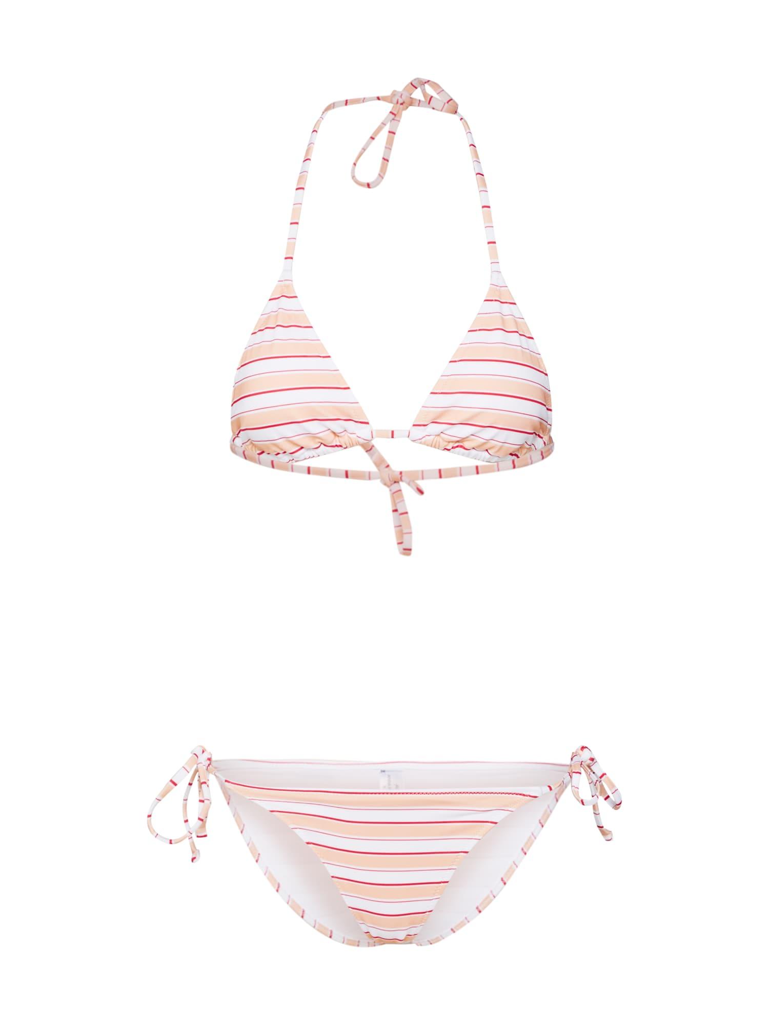 Bikiny bikini set růže bílá Anna Field