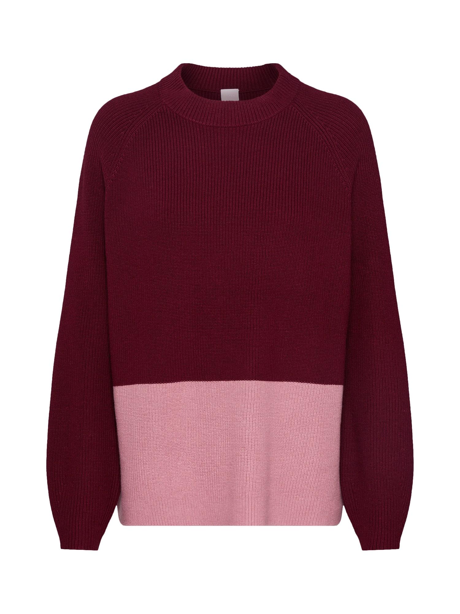 BOSS Megztinis 'Wenevery' raudona