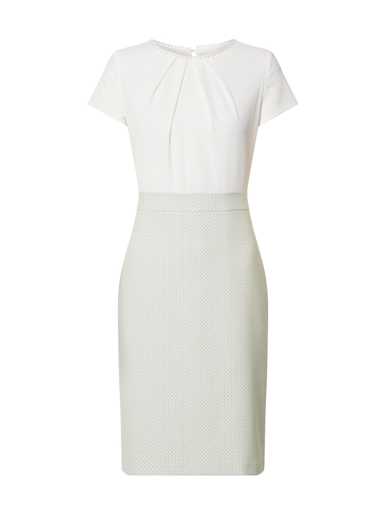 s.Oliver BLACK LABEL Trumpa kokteilinė suknelė balta