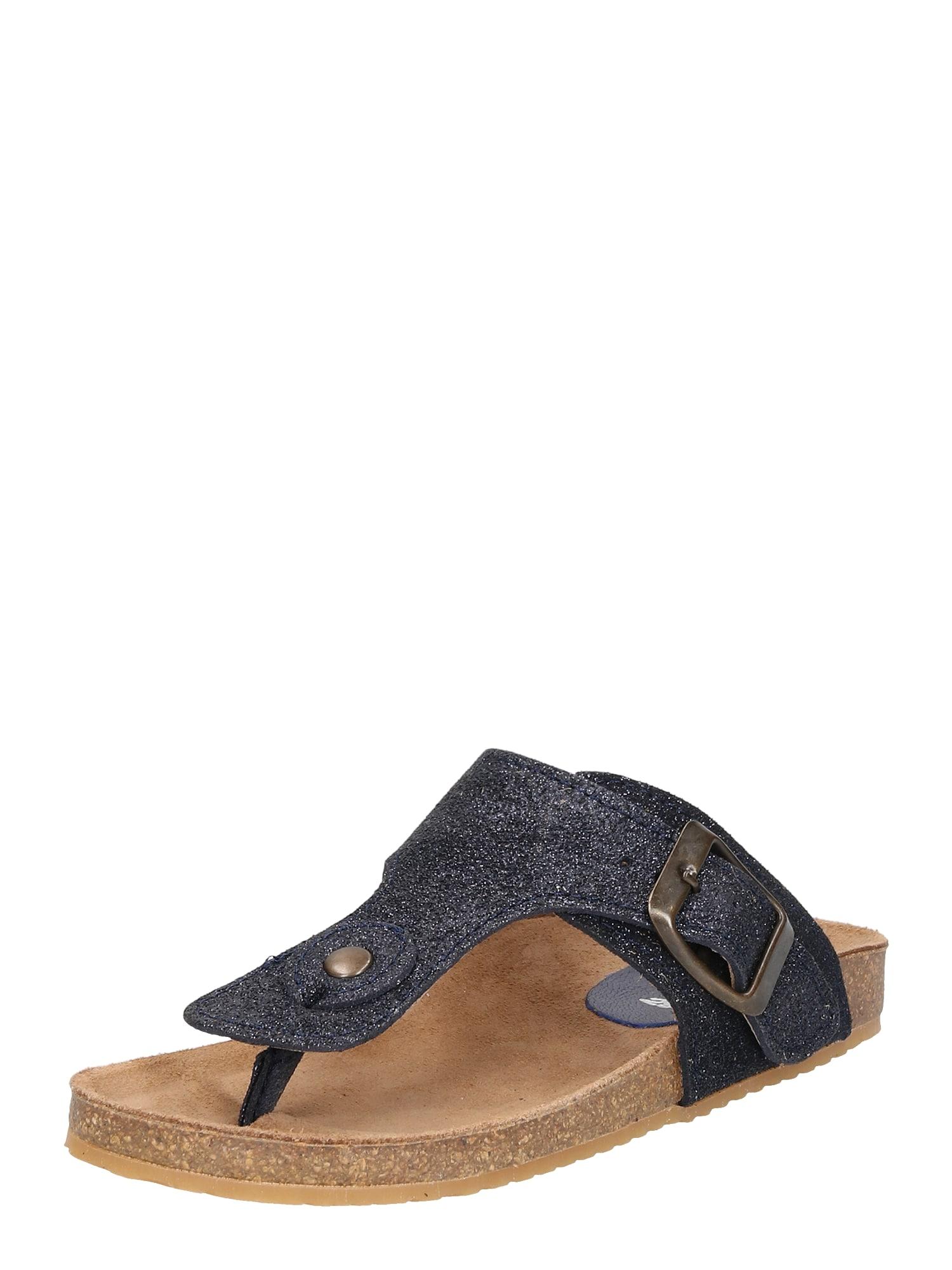Sandály 14 azurová Clic