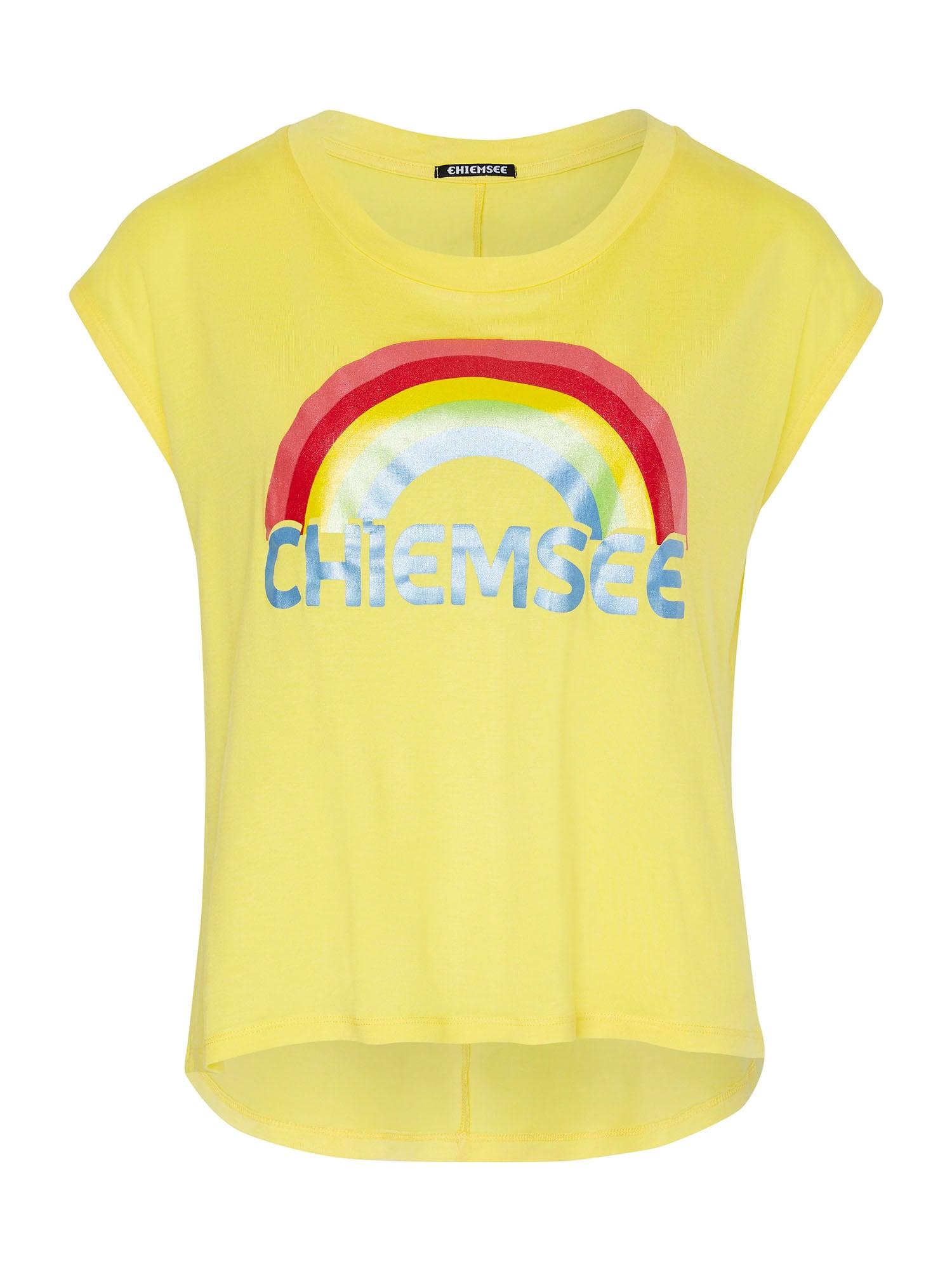 CHIEMSEE Sportiniai marškinėliai geltona / raudona