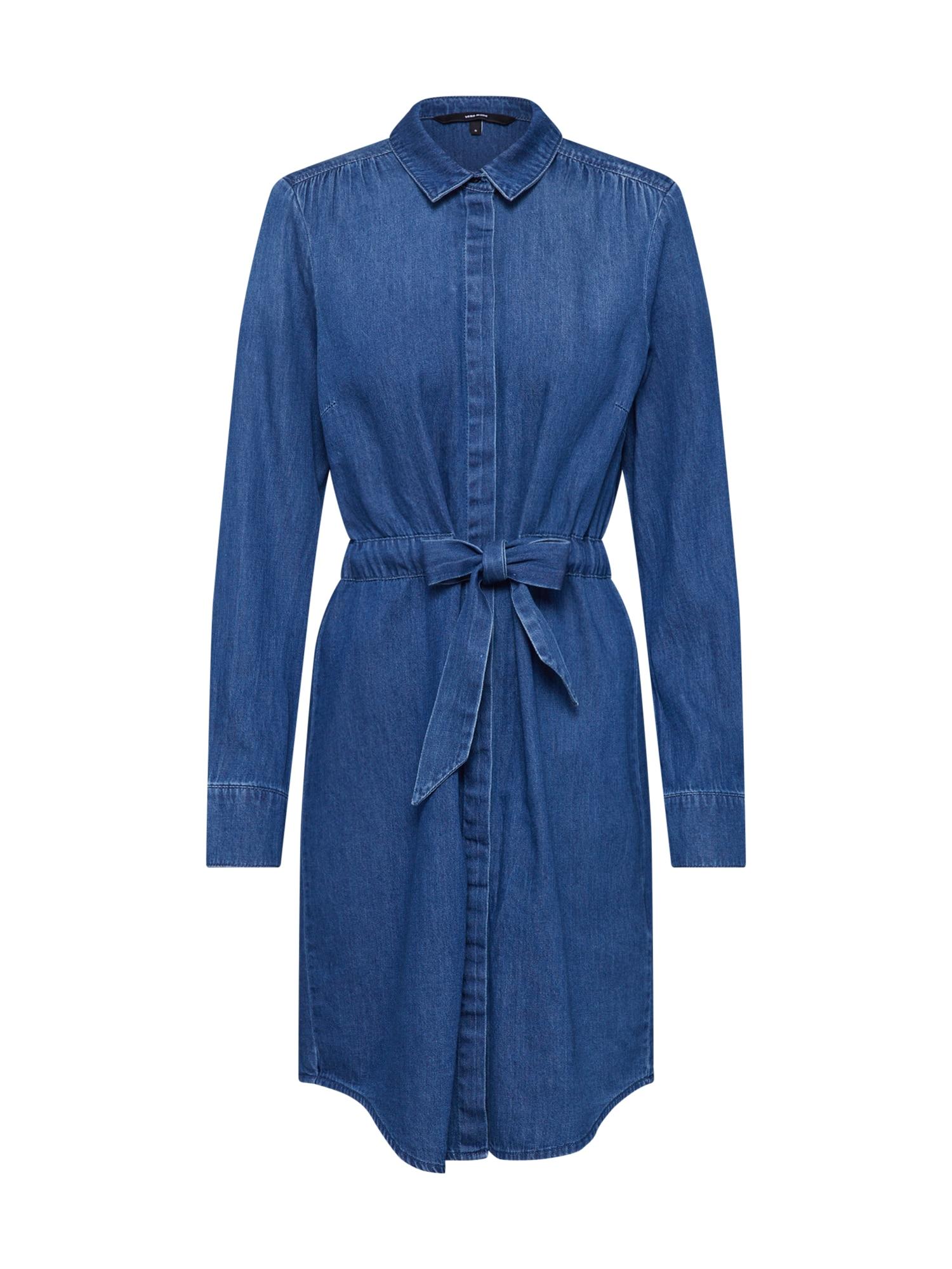VERO MODA Palaidinės tipo suknelė 'RACHEL' tamsiai (džinso) mėlyna