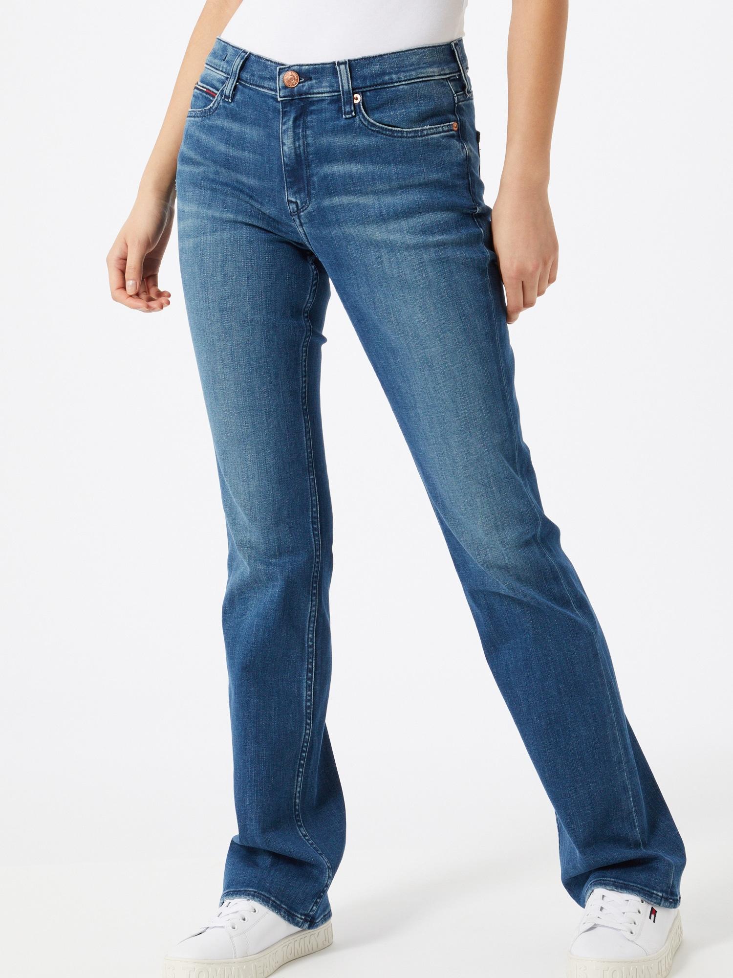Tommy Jeans Jeans 'MADDIE MR'  blå denim