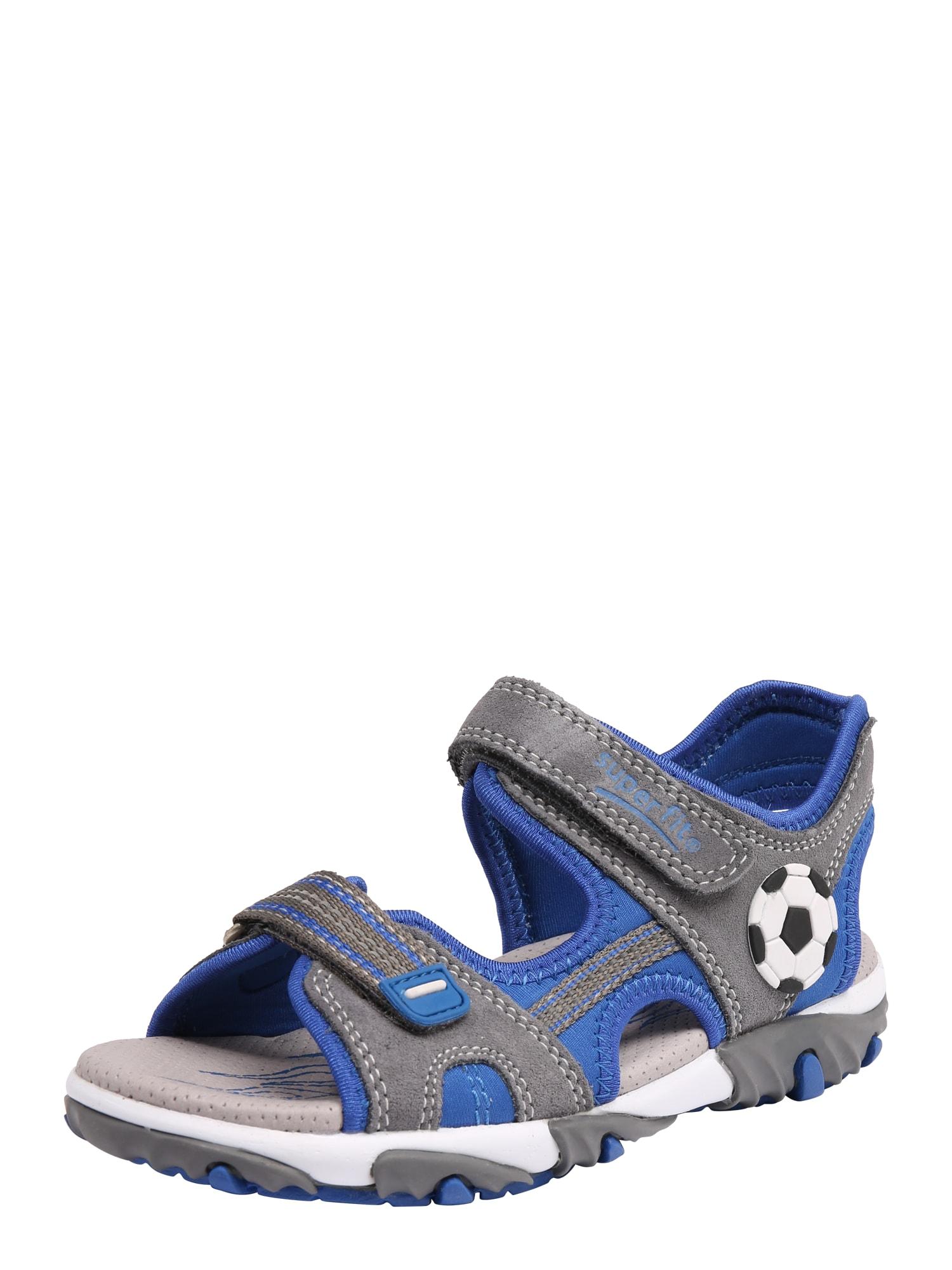 Otevřená obuv MIKE 2 modrá šedá SUPERFIT
