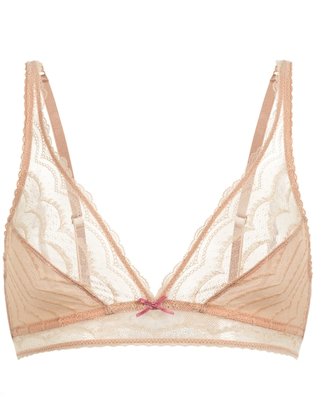 Waesche für Frauen - PALMERS Triangle BH 'Romantic Dream' apricot  - Onlineshop ABOUT YOU