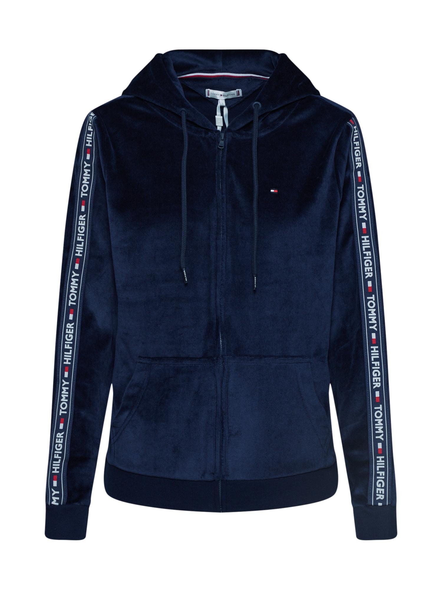 Damen - Wäsche & Bademode 'ZIP THRU HOODY LS' | Bekleidung > Sweatshirts & -jacken > Zip-Hoodies | Tommy Hilfiger Underwear