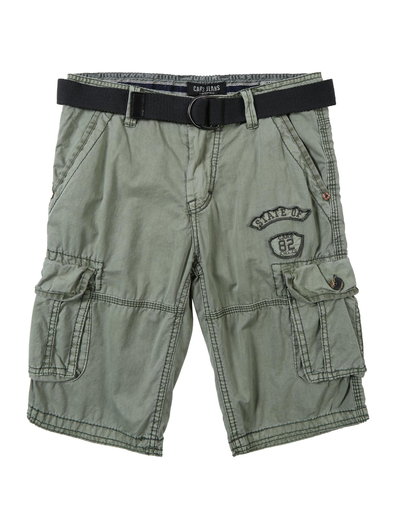 Kalhoty olivová Cars Jeans