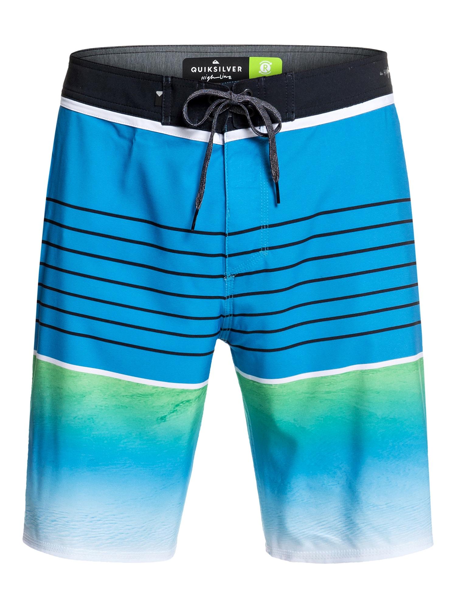 Sportovní plavky HIGHLINE SLAB 20 světlemodrá QUIKSILVER