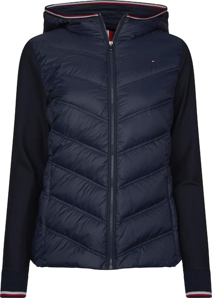 Jacken - Jacke 'Bella Hybrid Lw Down' › Tommy Hilfiger › navy  - Onlineshop ABOUT YOU