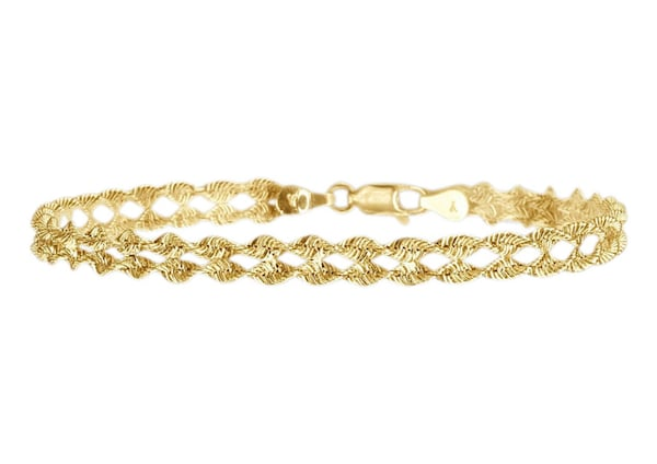 Armbaender - Armband in Fantasiekettengliederung › FIRETTI › gold  - Onlineshop ABOUT YOU