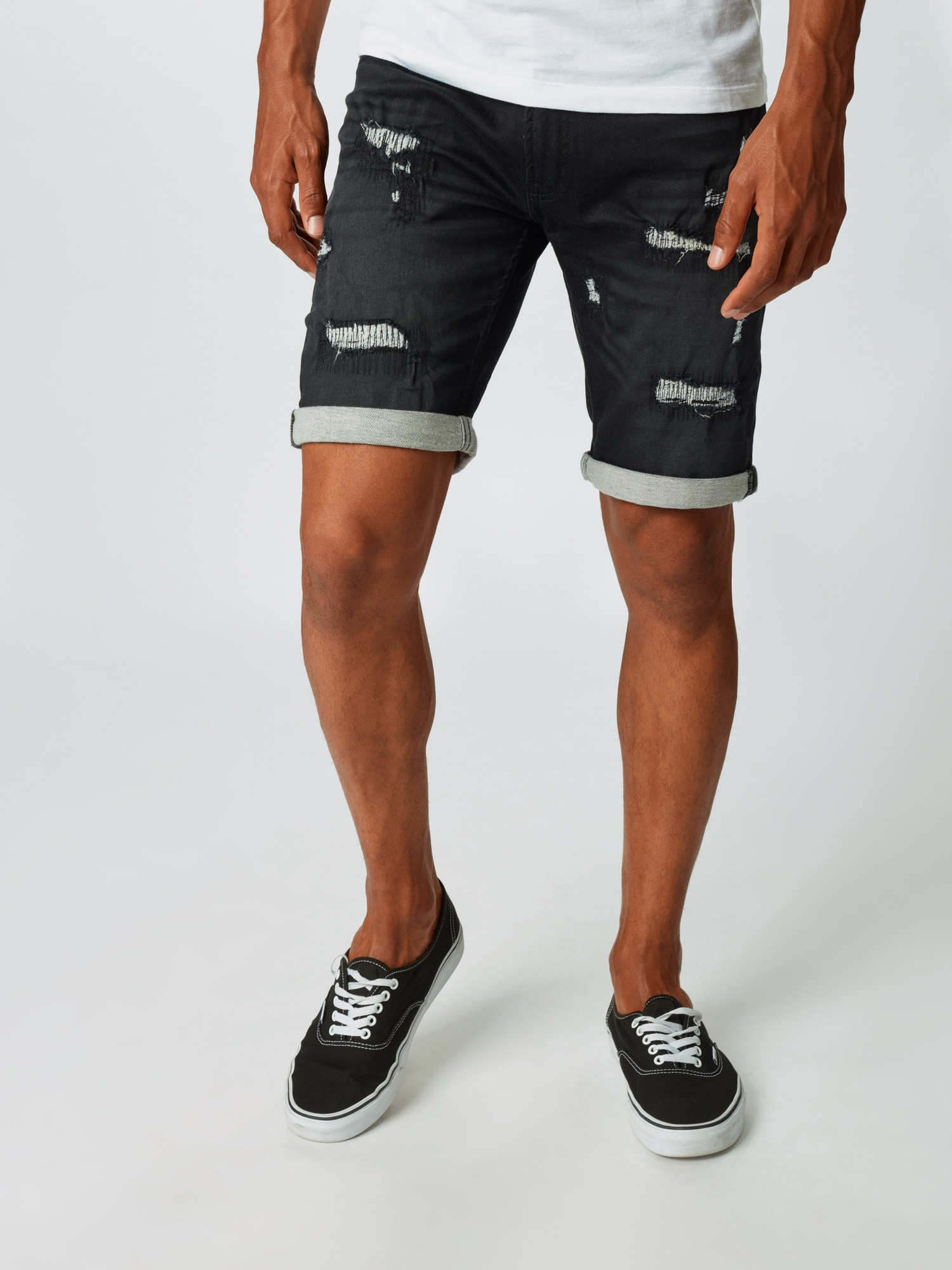 INDICODE JEANS Jeans  svart