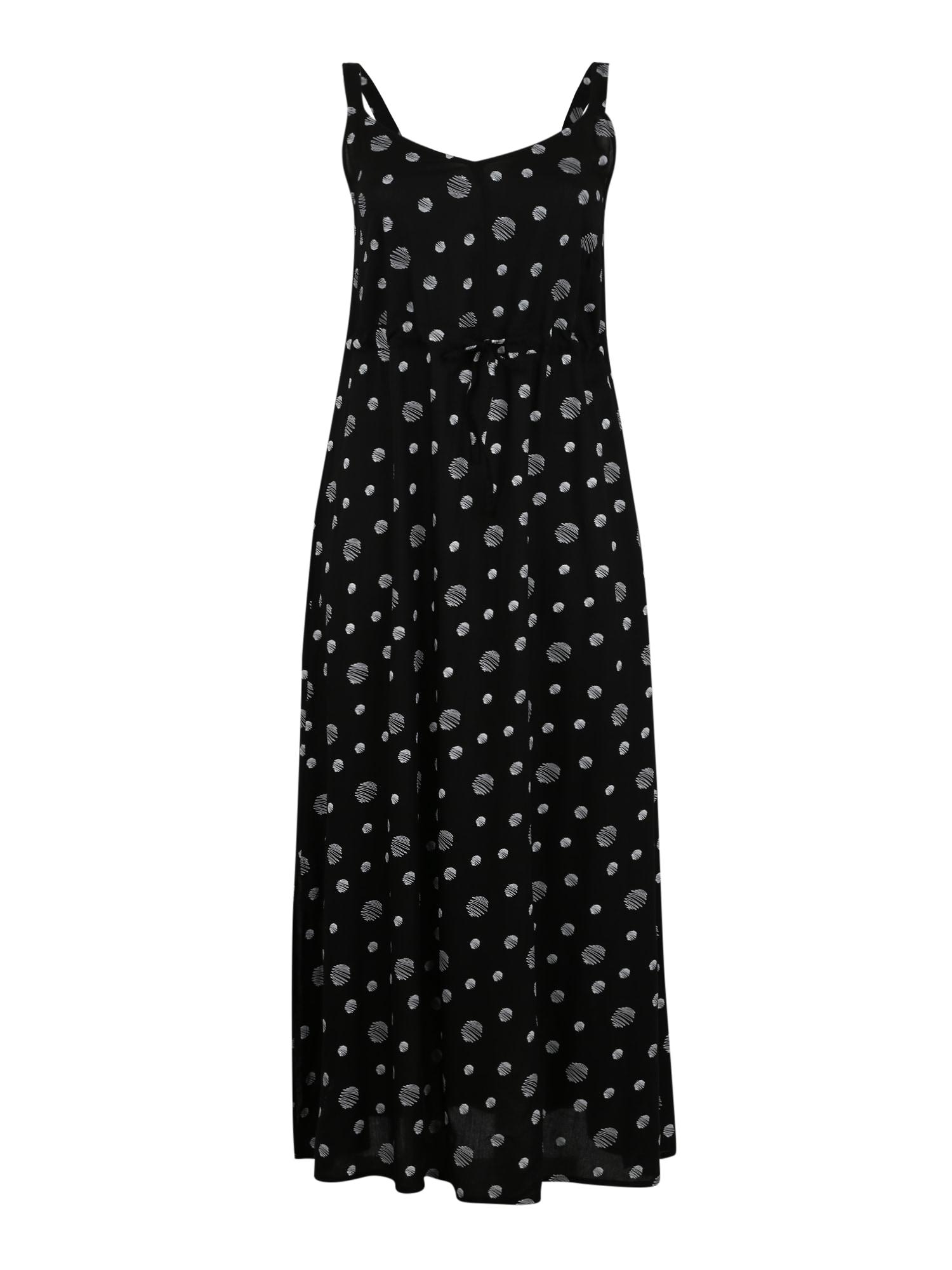 Letní šaty černá bílá Junarose
