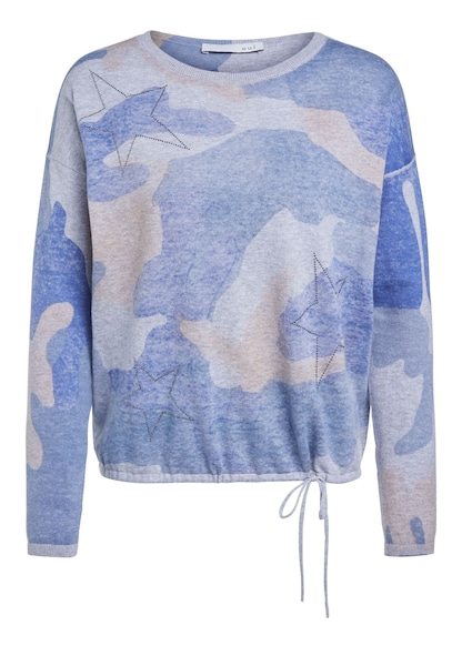 Oberteile - Pullover › Oui › blau  - Onlineshop ABOUT YOU