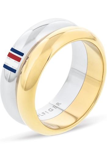 Ringe für Frauen - TOMMY HILFIGER Ring gold silber  - Onlineshop ABOUT YOU