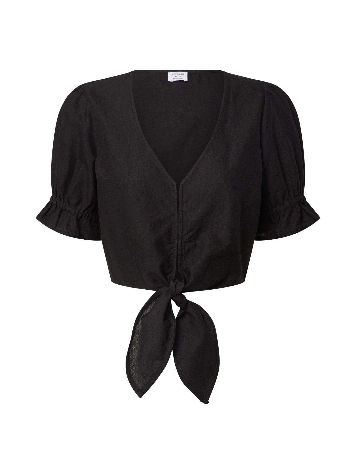 Cotton On Marškinėliai juoda