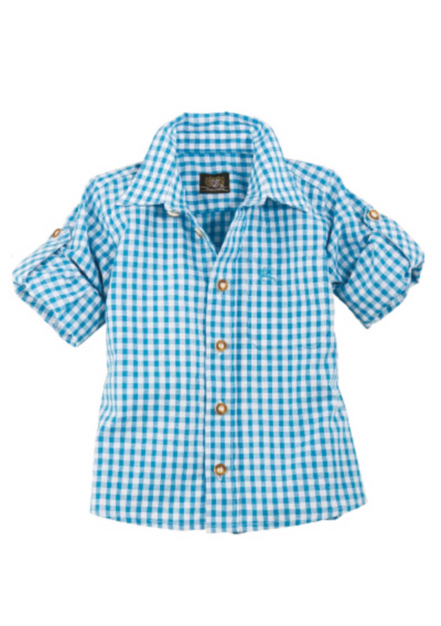 Miniboyoberteile - Trachten Kinderhemd kariert - Onlineshop ABOUT YOU
