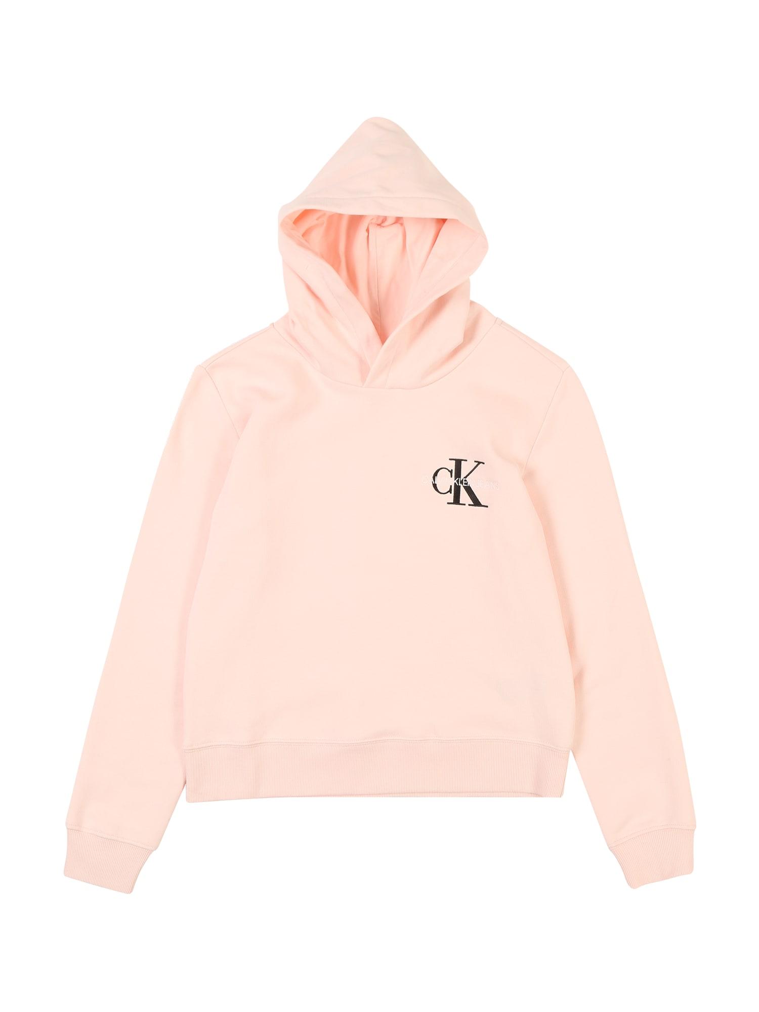 Calvin Klein Jeans Megztinis be užsegimo pudros spalva