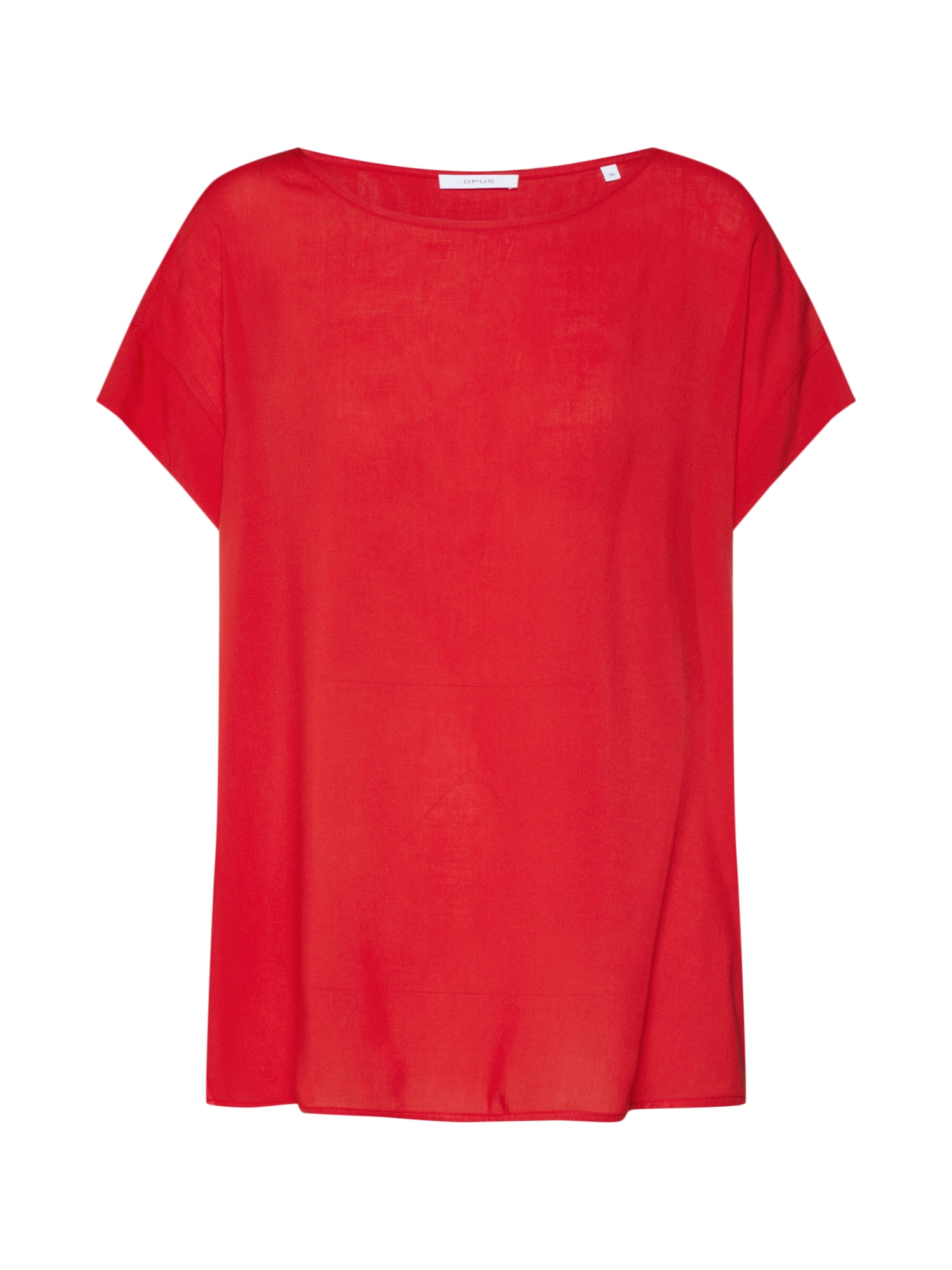 Oversized tričko Skita červená OPUS