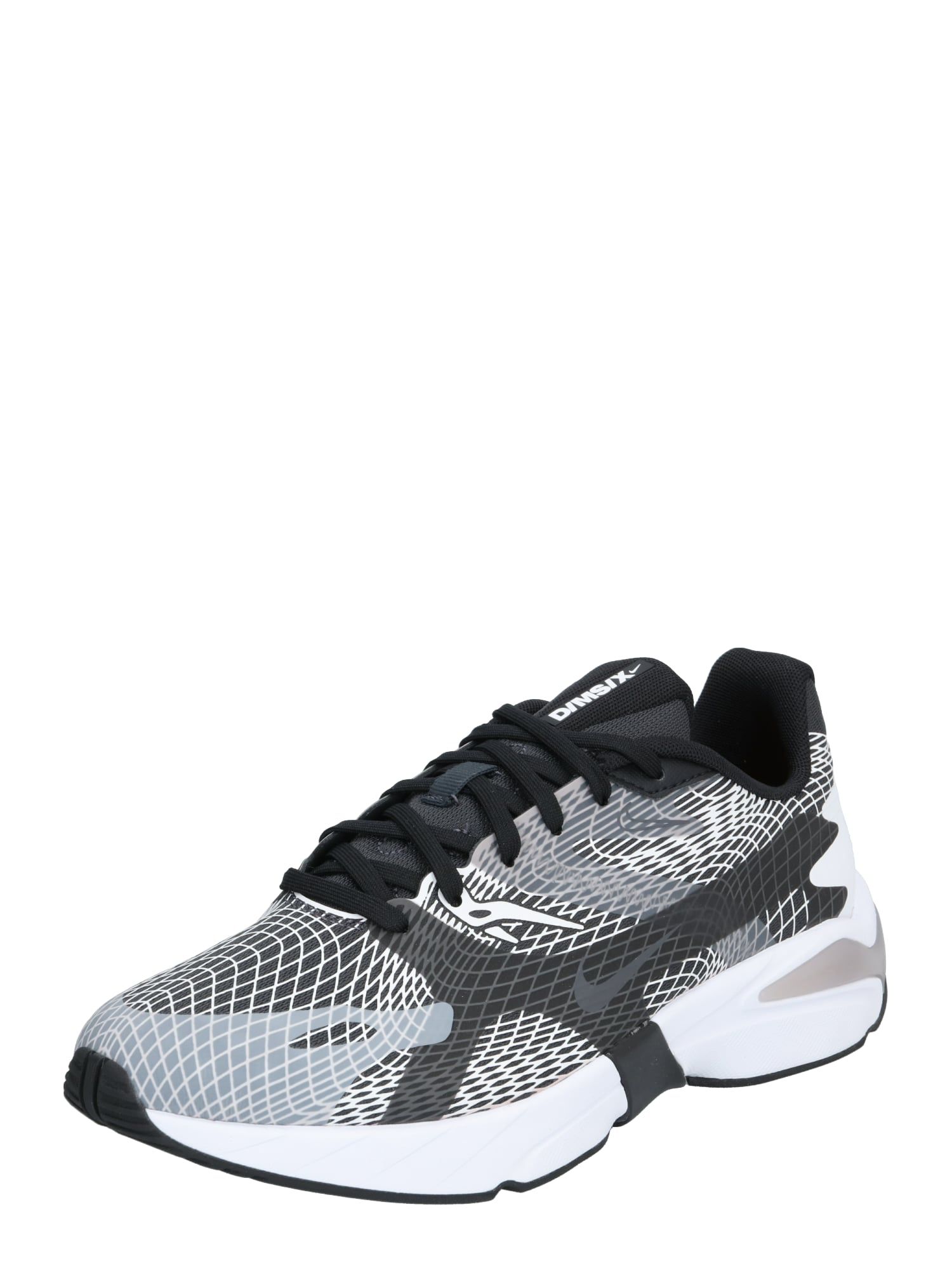 Nike Sportswear Nízke tenisky 'Ghoswift'  čierna / biela / sivá