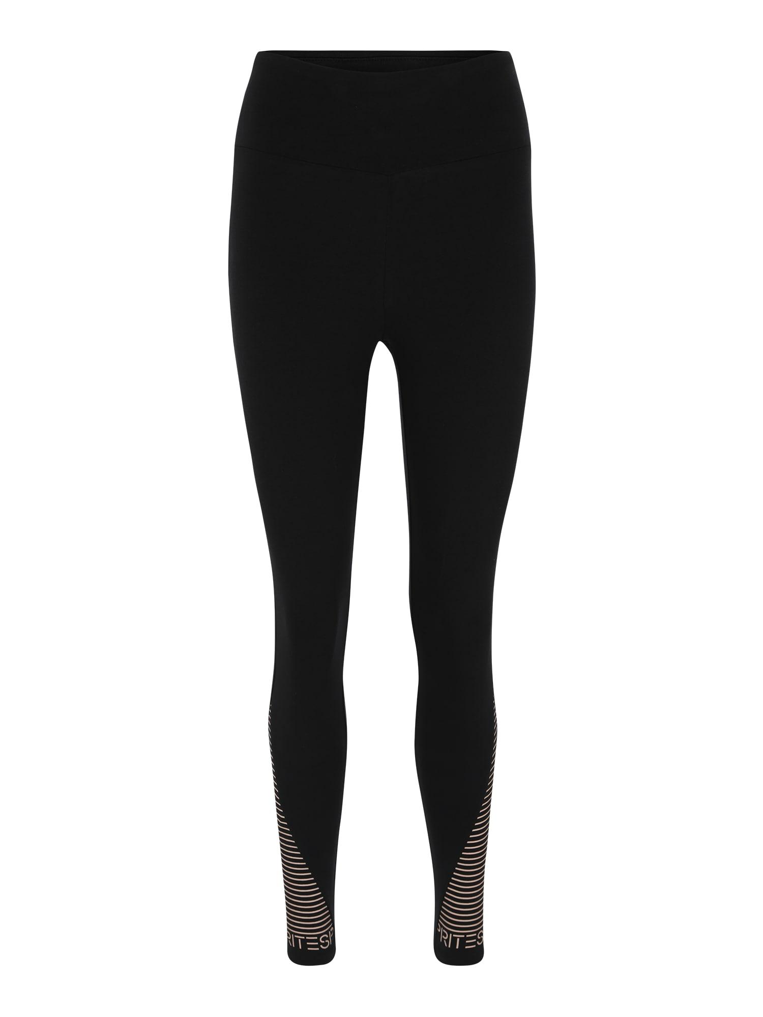 Sportovní kalhoty tight coly sl černá ESPRIT SPORTS