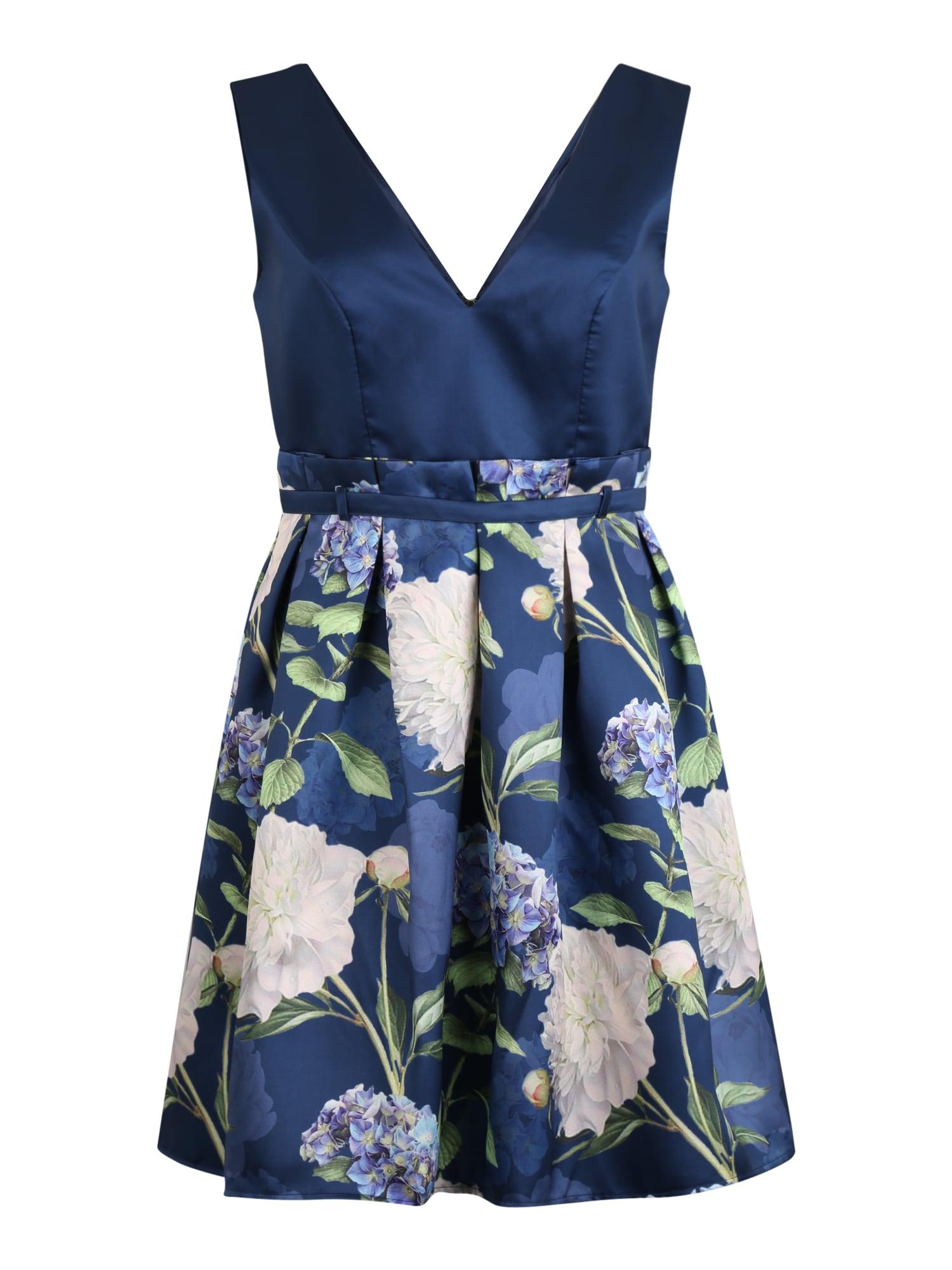 Chi Chi Curve Kokteilinė suknelė 'Curve Ilona' tamsiai mėlyna
