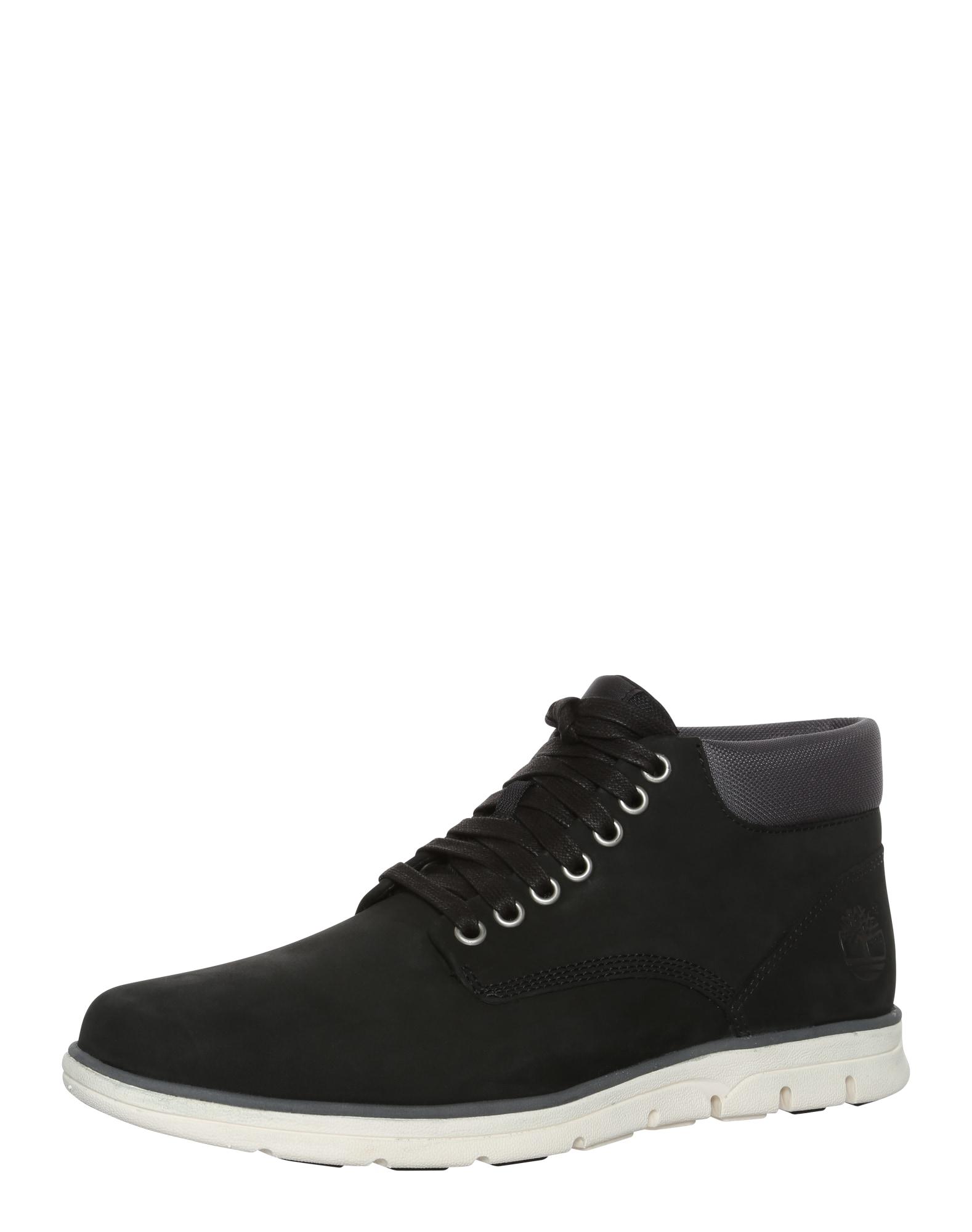 Šněrovací boty Bradstreet Chukka Leather černá TIMBERLAND