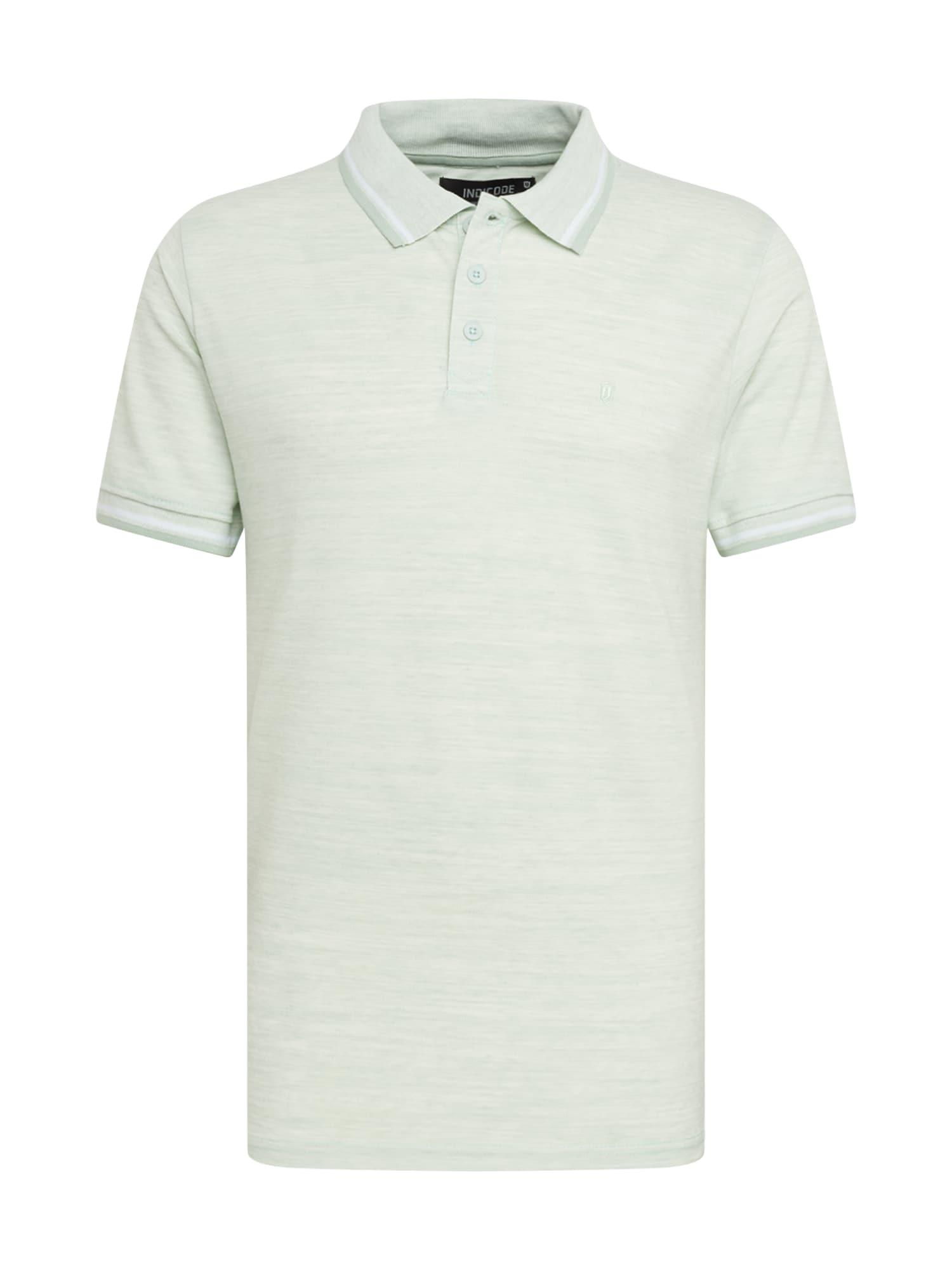 INDICODE JEANS Marškinėliai 'Conley' mėtų spalva
