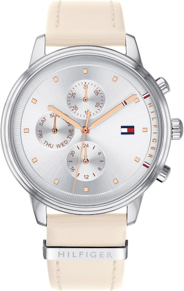 Uhren für Frauen - TOMMY HILFIGER Multifunktionsuhr champagner silber  - Onlineshop ABOUT YOU