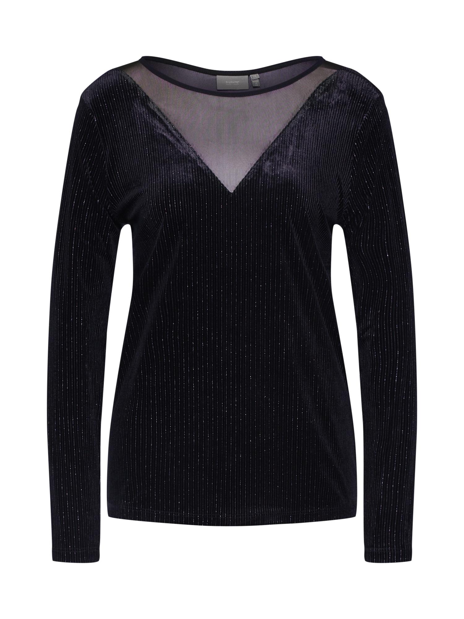b.young Marškinėliai 'BYRED PULLOVER' juoda
