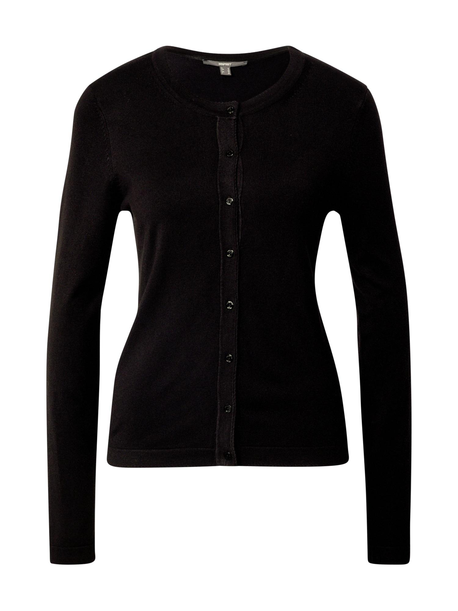 Esprit Collection Kardiganas juoda