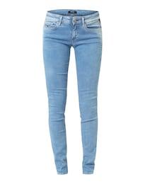 REPLAY Damen Luz Skinny Fit Jeans blau   08054959402264