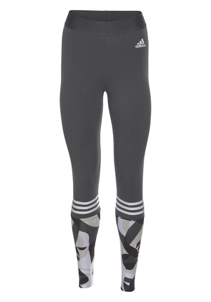 Sportmode für Frauen - Leggings 'Sid Tight All Over Print' › ADIDAS PERFORMANCE › anthrazit  - Onlineshop ABOUT YOU