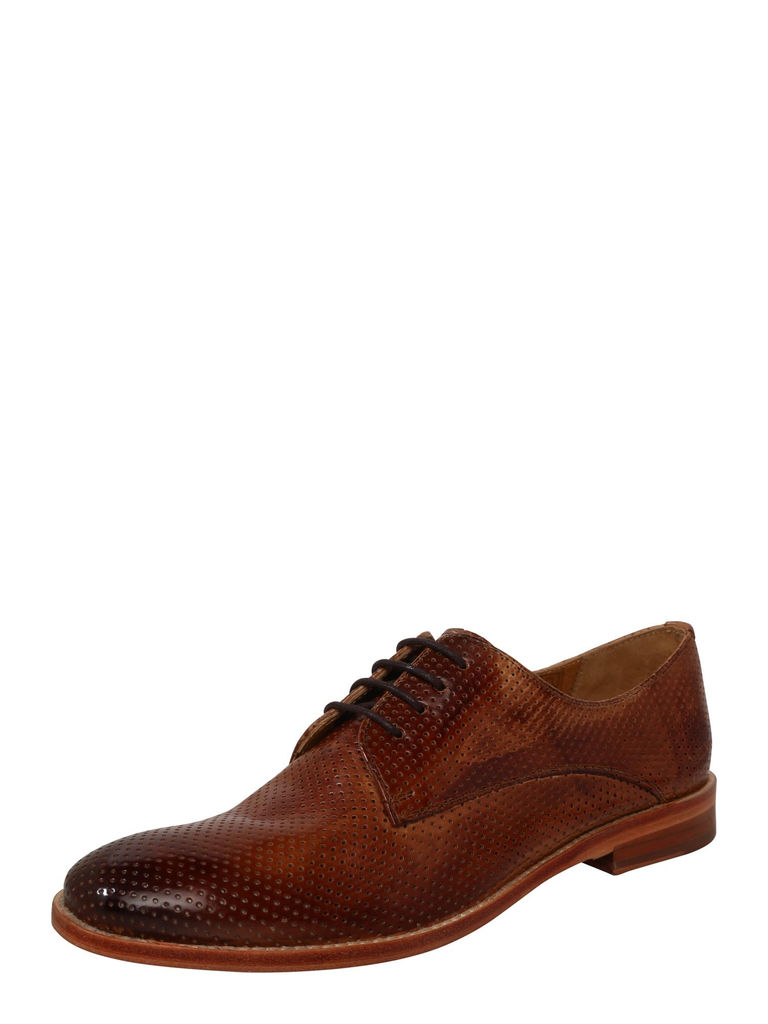Šněrovací boty Amelie 14 hnědá MELVIN & HAMILTON