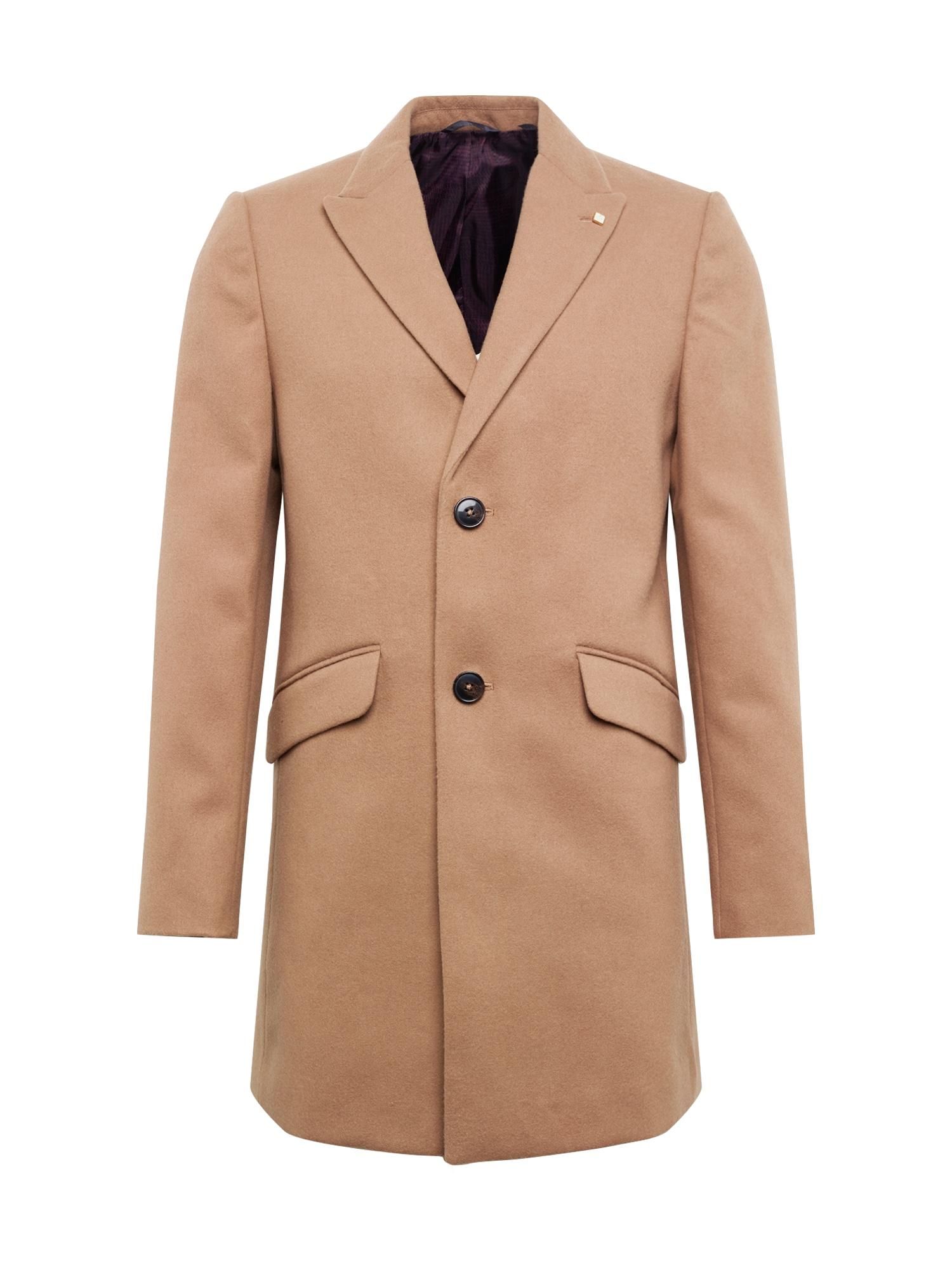 BURTON MENSWEAR LONDON Rudeninis-žieminis paltas 'CROMBIE' kupranugario