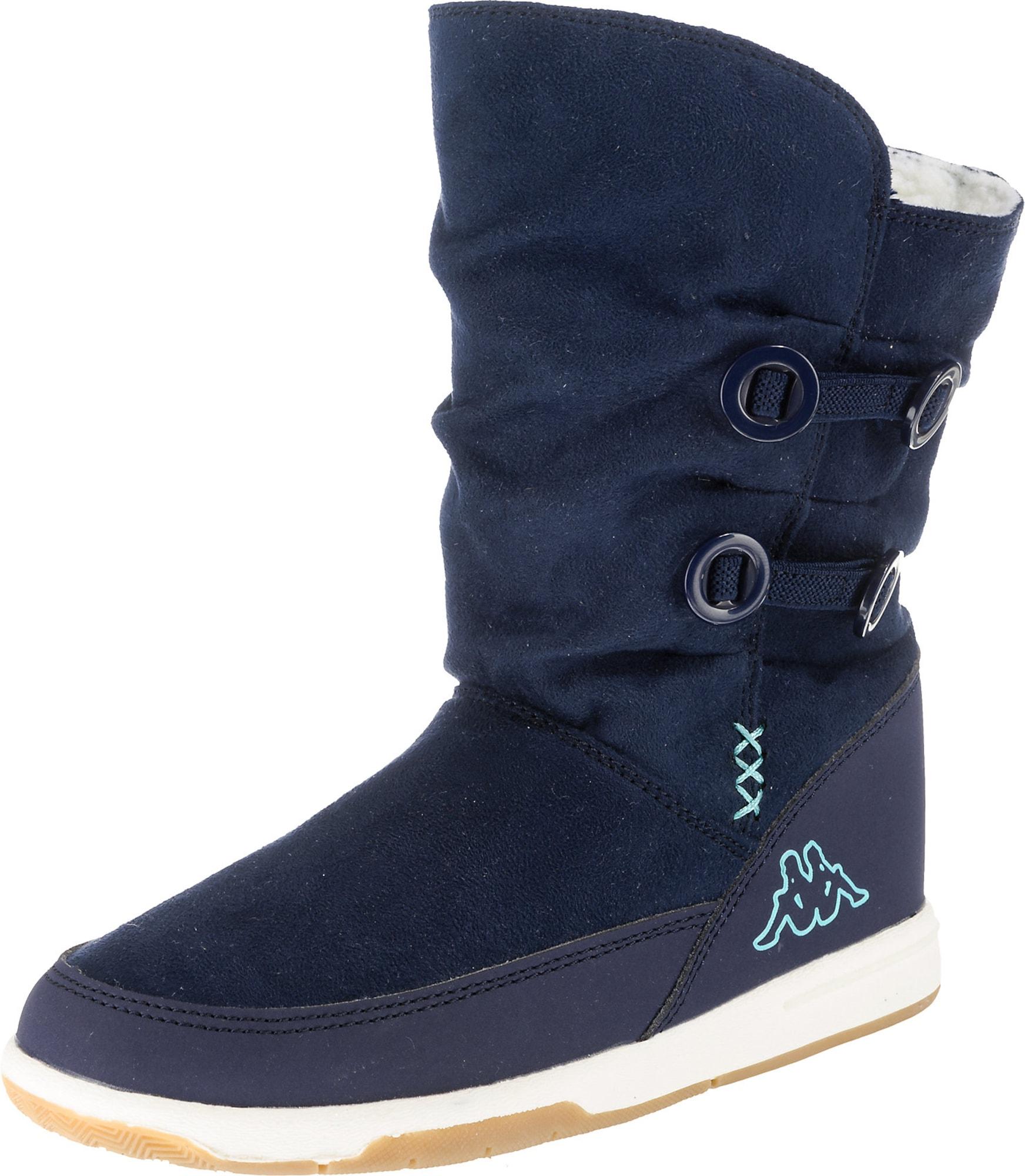 KAPPA Sněhule 'CREAM'  námořnická modř / tyrkysová