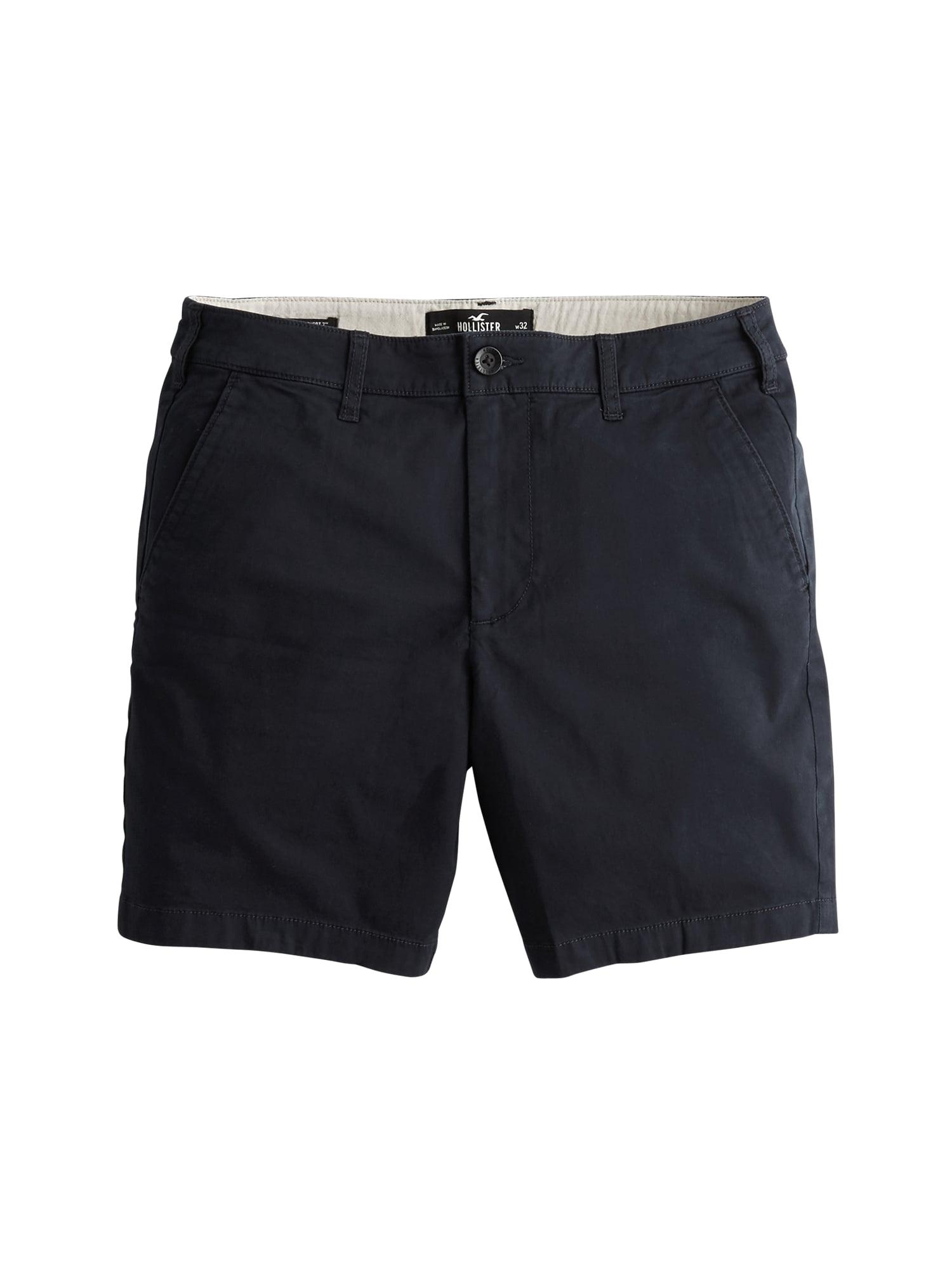 HOLLISTER Kelnės 'SHORT' tamsiai mėlyna