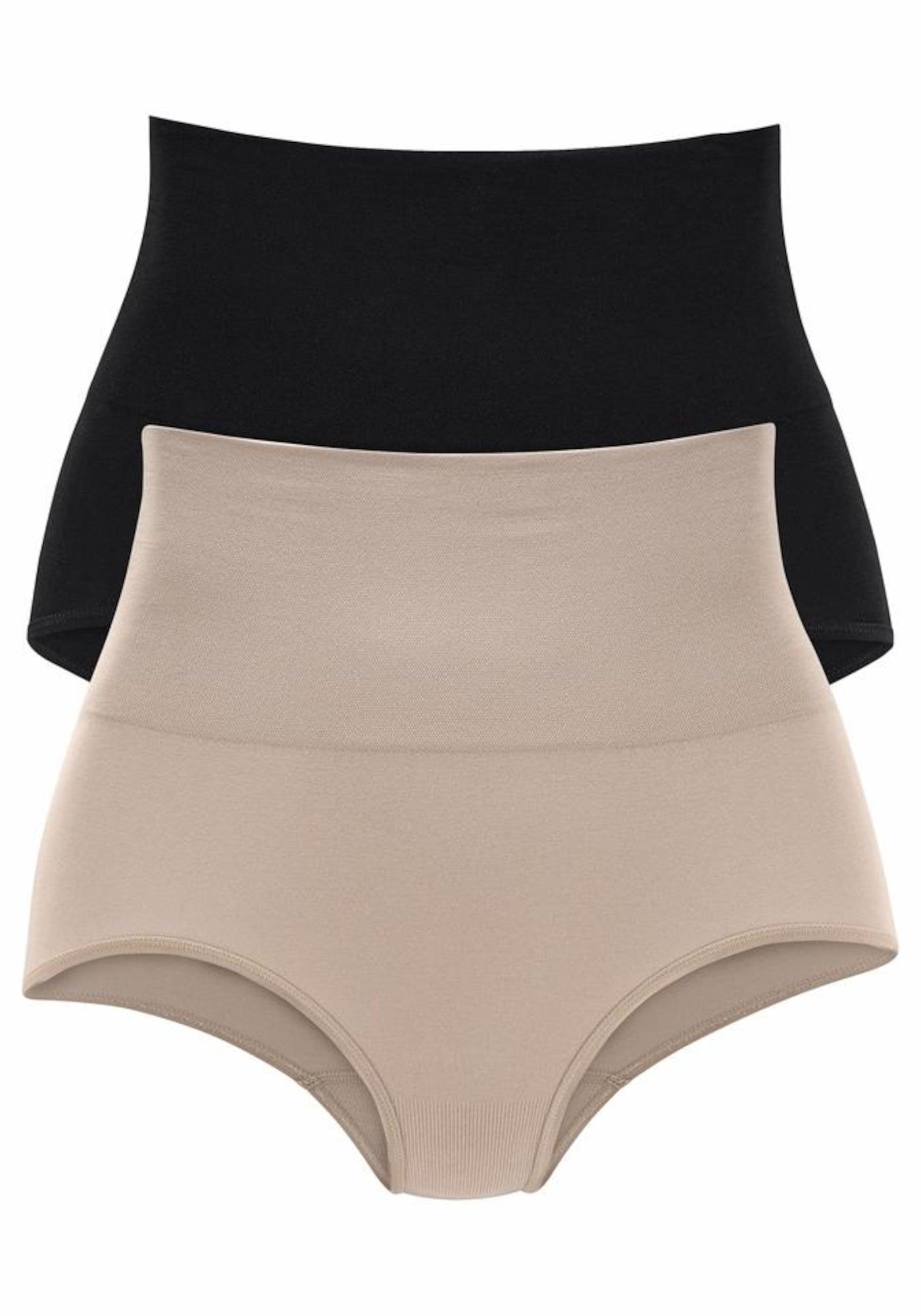 PETITE FLEUR Stahovací prádlo  tělová / černá