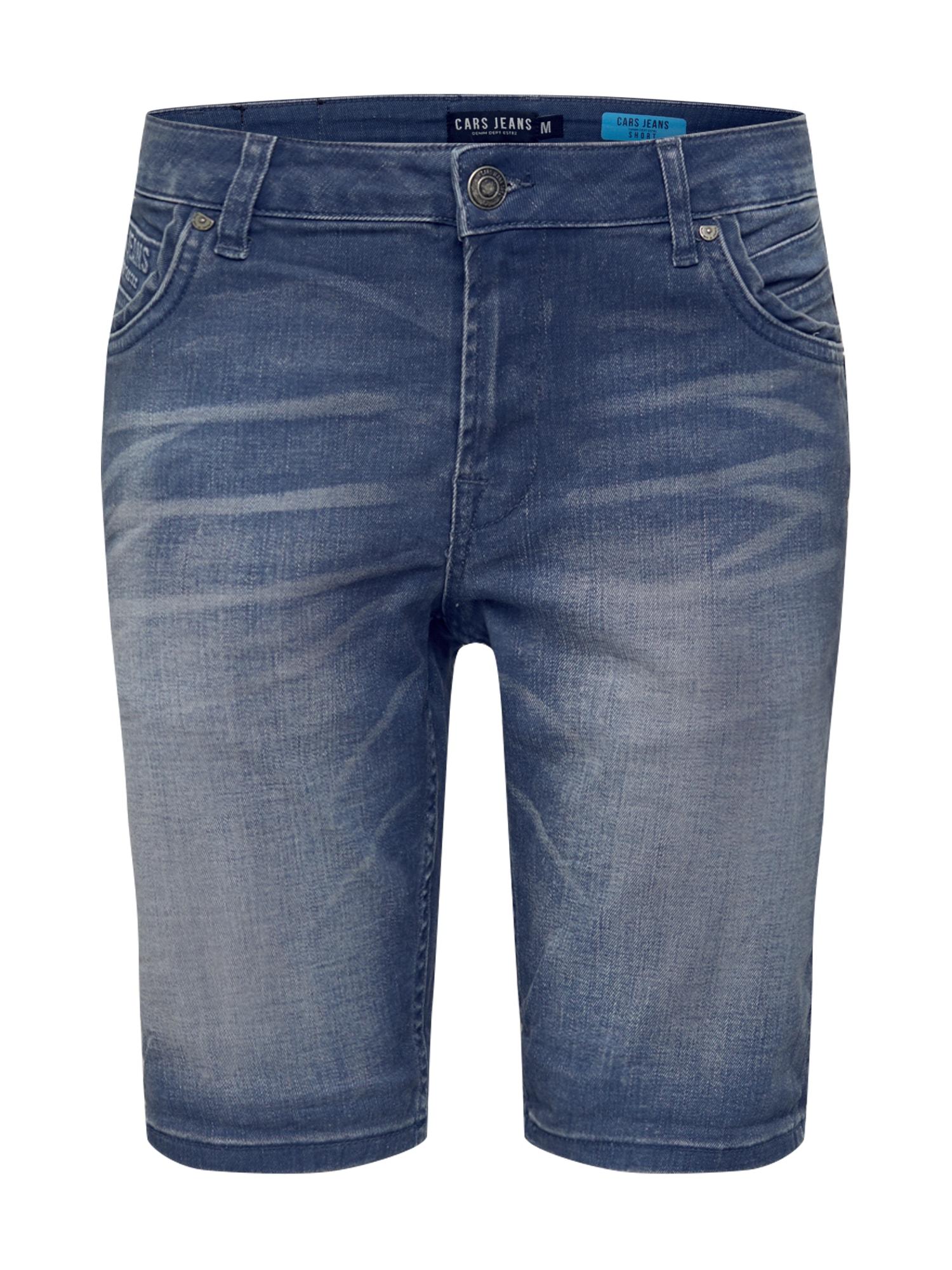 Cars Jeans Džinsai 'HENRY' pilko džinso / mėlyna