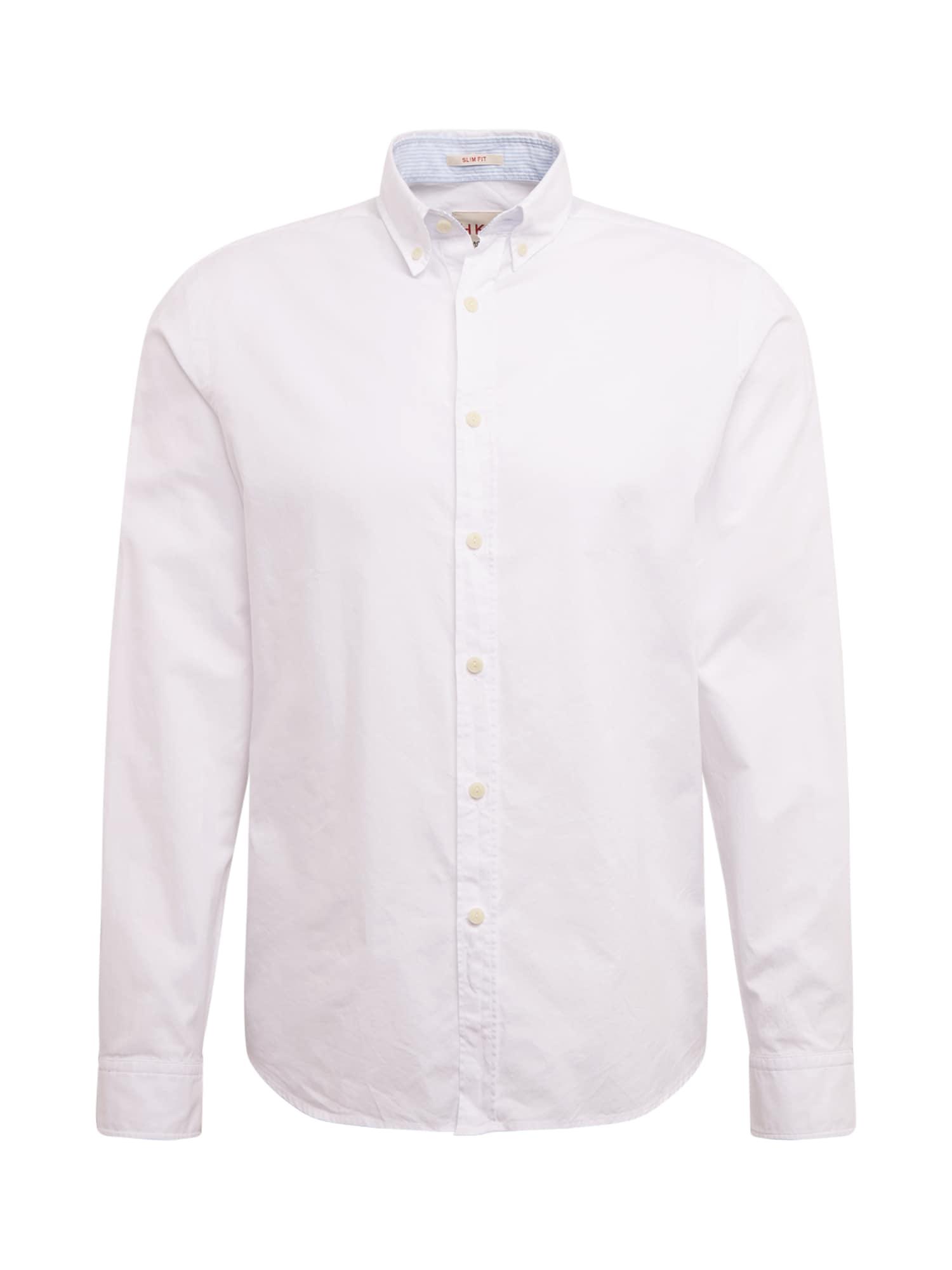 HKT by HACKETT Dalykinio stiliaus marškiniai balta
