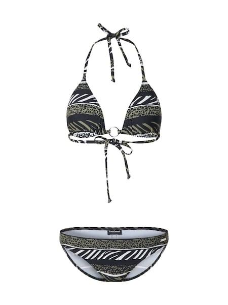 Bademode - Triangel Bikini › Bruno Banani › oliv  - Onlineshop ABOUT YOU